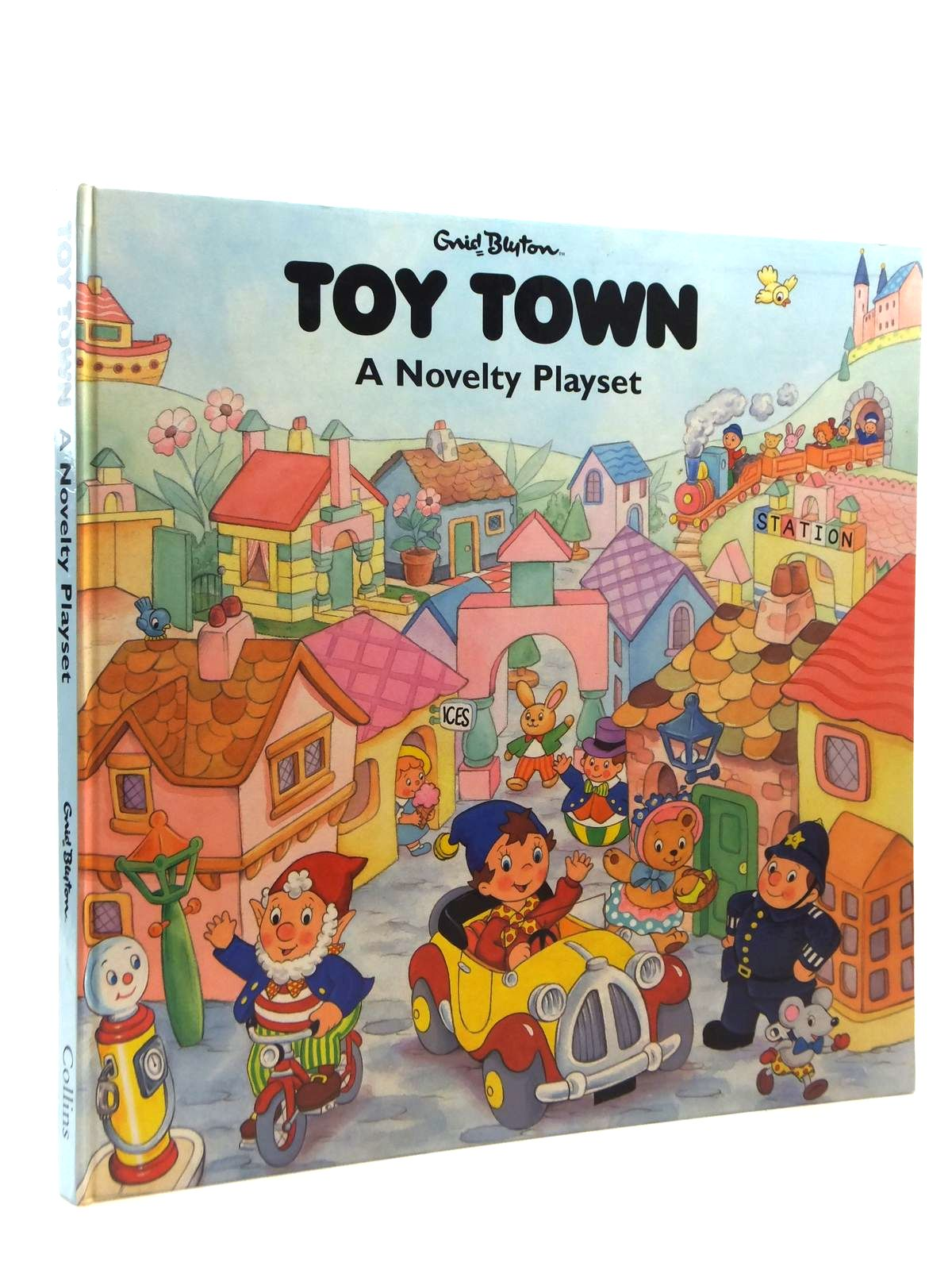 Photo of TOY TOWN A NOVELTY PLAY SET written by Blyton, Enid published by Harper Collins (STOCK CODE: 1814948)  for sale by Stella & Rose's Books