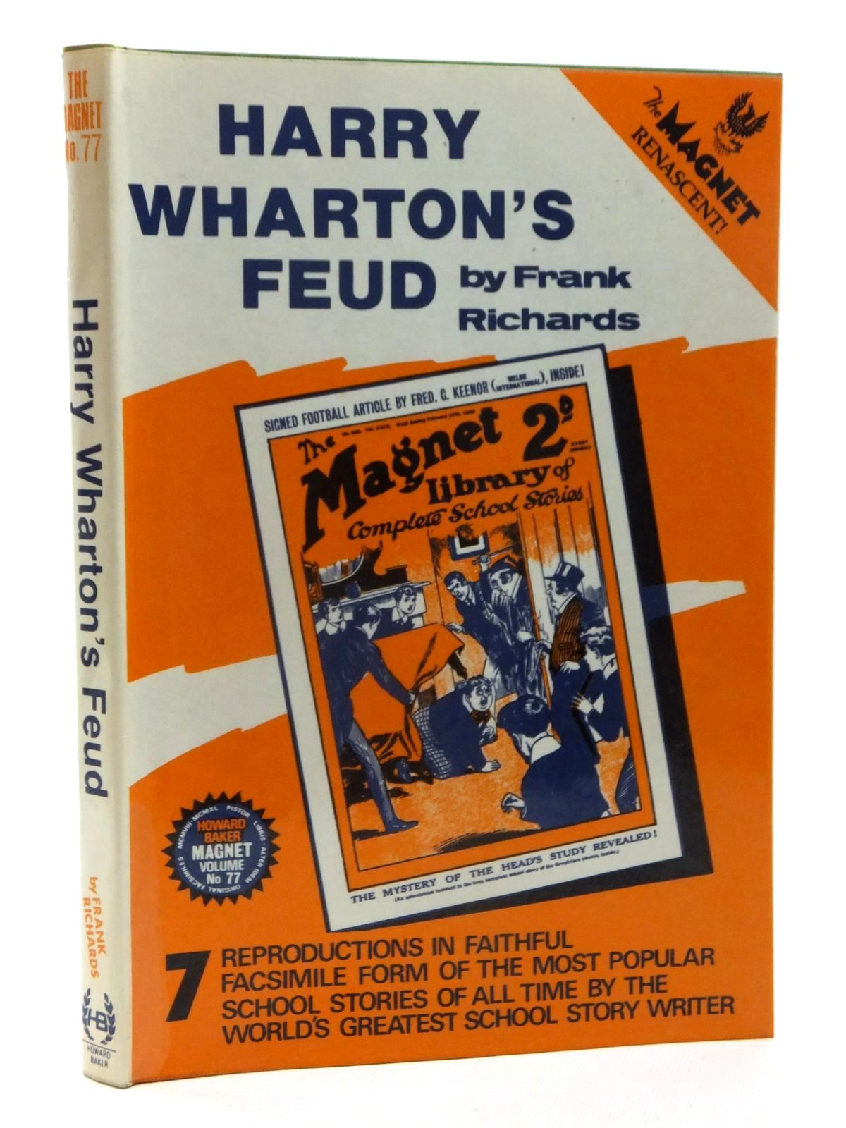 Photo of HARRY WHARTON'S FEUD written by Richards, Frank published by Howard Baker (STOCK CODE: 1815319)  for sale by Stella & Rose's Books