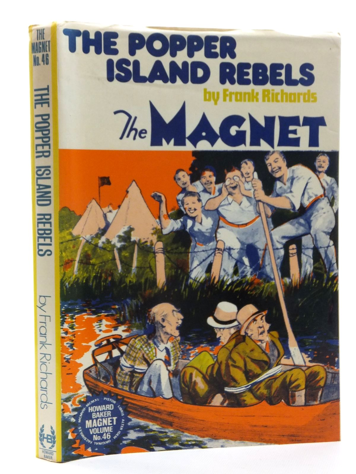 Photo of THE POPPER ISLAND REBELS written by Richards, Frank published by Howard Baker (STOCK CODE: 1815331)  for sale by Stella & Rose's Books