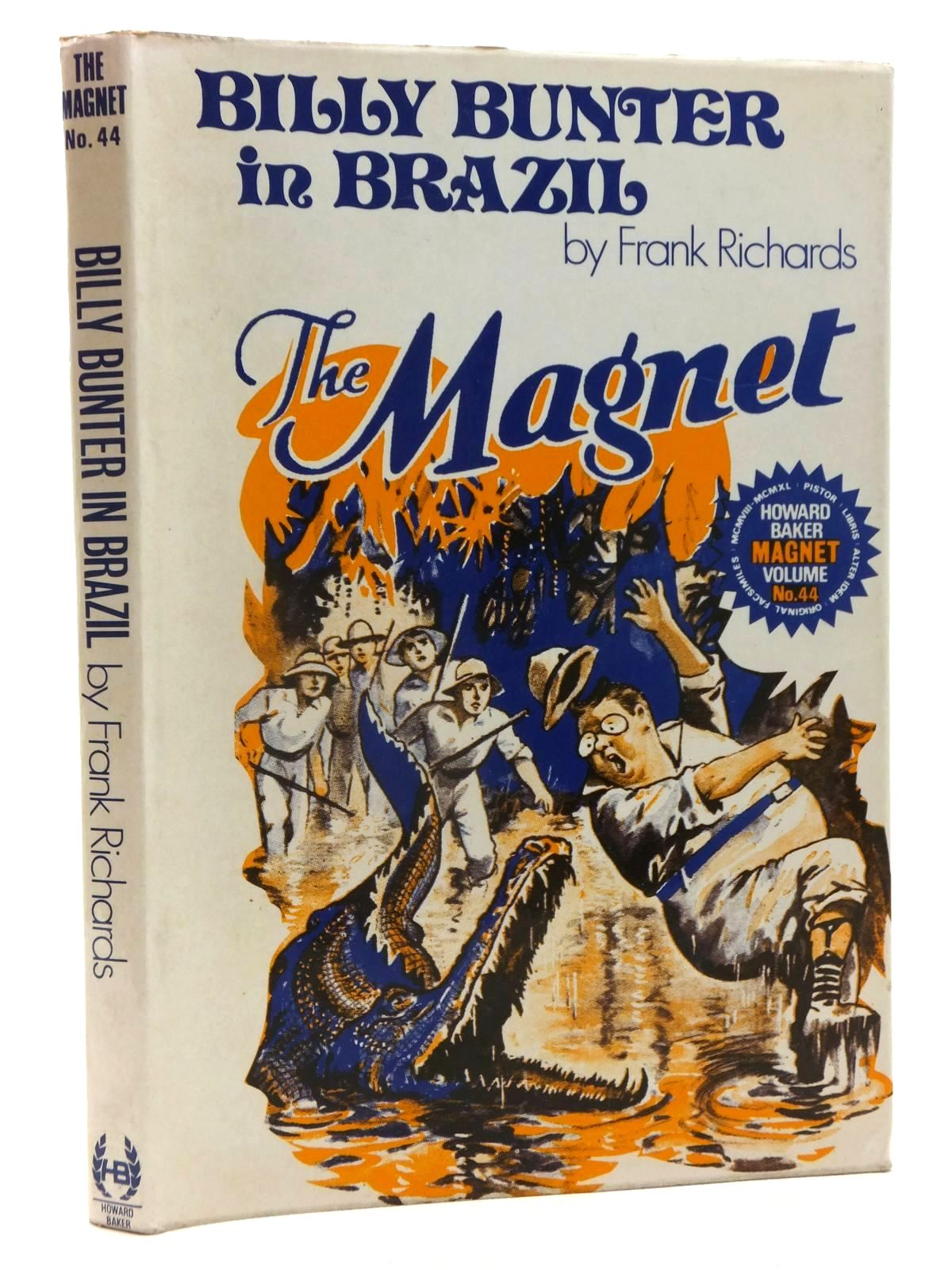 Photo of BILLY BUNTER IN BRAZIL written by Richards, Frank published by Howard Baker (STOCK CODE: 1815333)  for sale by Stella & Rose's Books