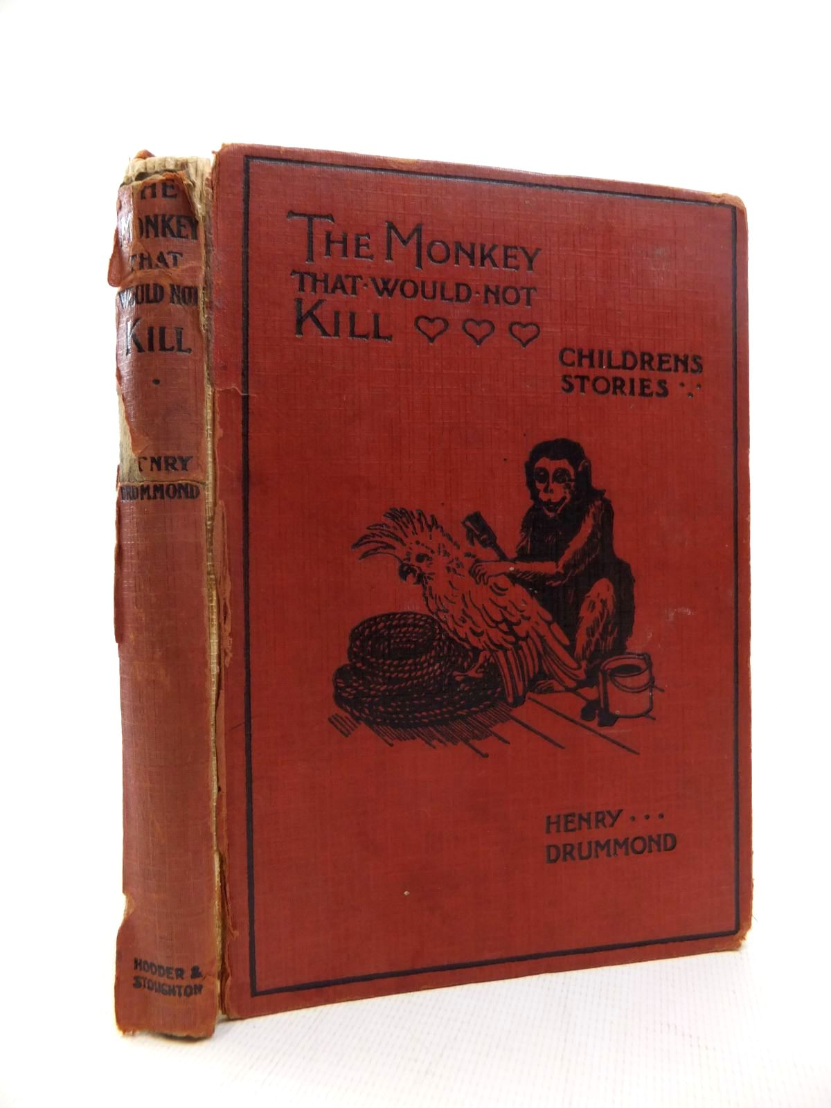 Photo of THE MONKEY THAT WOULD NOT KILL written by Drummond, Henry illustrated by Wain, Louis published by Hodder & Stoughton (STOCK CODE: 1815394)  for sale by Stella & Rose's Books
