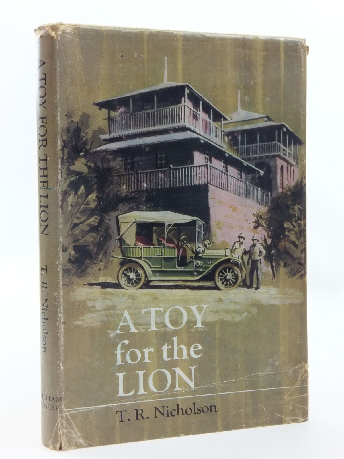 Photo of A TOY FOR THE LION written by Nicholson, T.R. published by William Kimber (STOCK CODE: 1815440)  for sale by Stella & Rose's Books
