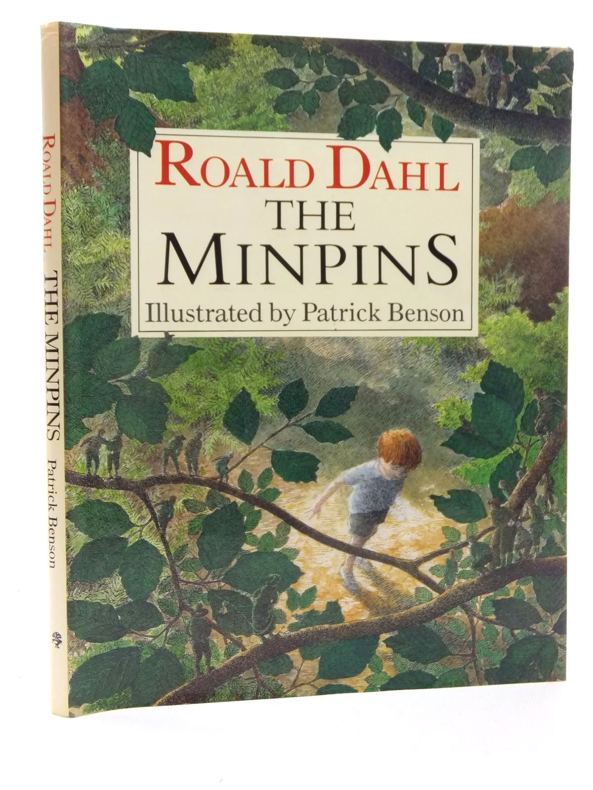 Photo of THE MINPINS written by Dahl, Roald illustrated by Benson, Patrick published by Jonathan Cape (STOCK CODE: 1815443)  for sale by Stella & Rose's Books