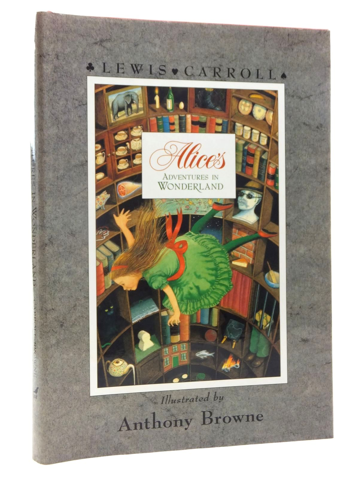 Photo of ALICE'S ADVENTURES IN WONDERLAND written by Carroll, Lewis illustrated by Browne, Anthony published by Julia MacRae Books (STOCK CODE: 1815451)  for sale by Stella & Rose's Books