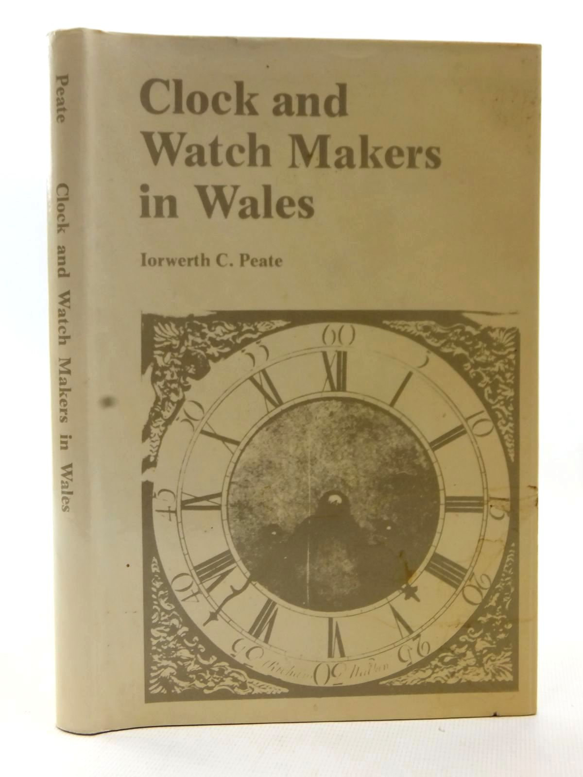 Photo of CLOCK AND WATCH MAKERS IN WALES written by Peate, Iorwerth C. published by National Museum of Wales (STOCK CODE: 1815462)  for sale by Stella & Rose's Books
