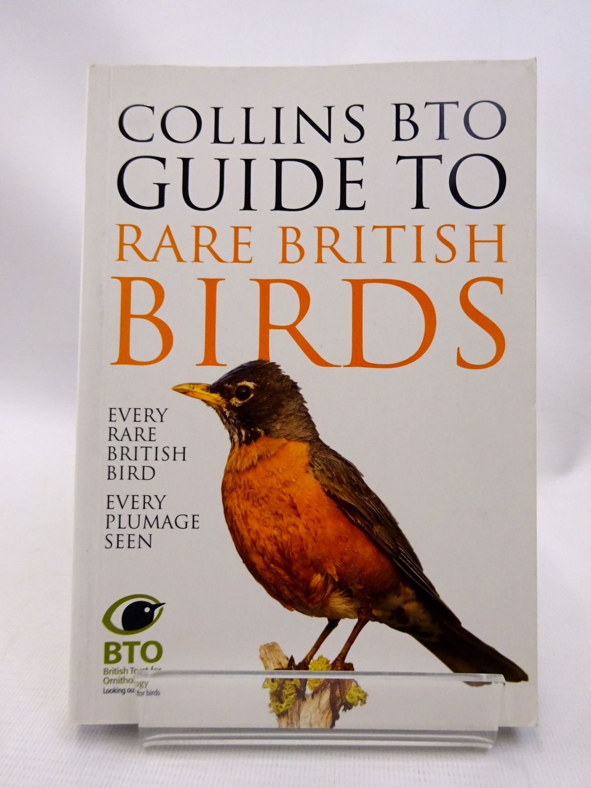 Photo of COLLINS BTO GUIDE TO RARE BRITISH BIRDS written by Sterry, Paul<br />Stancliffe, Paul published by Collins (STOCK CODE: 1815513)  for sale by Stella & Rose's Books