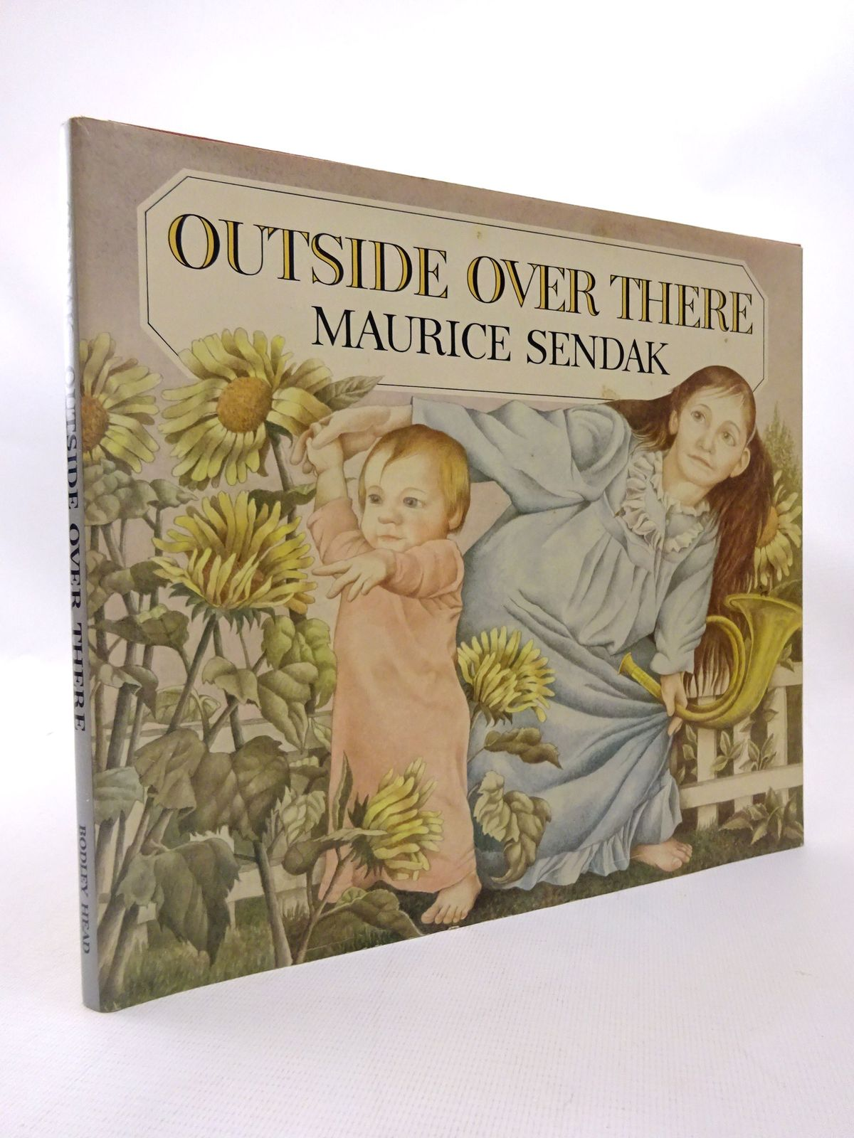 Photo of OUTSIDE OVER THERE written by Sendak, Maurice illustrated by Sendak, Maurice published by The Bodley Head (STOCK CODE: 1815523)  for sale by Stella & Rose's Books