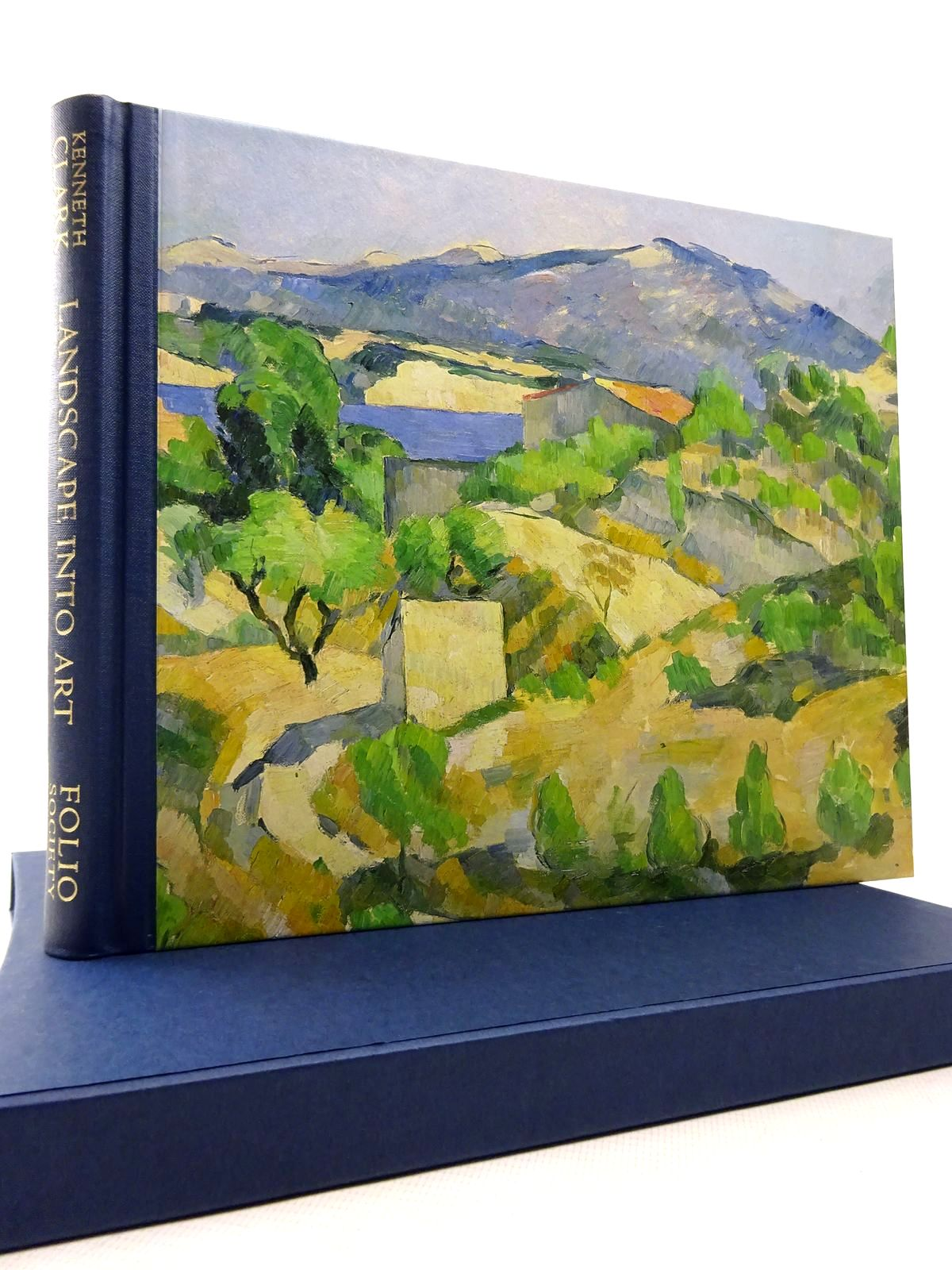Photo of LANDSCAPE INTO ART written by Clark, Kenneth published by Folio Society (STOCK CODE: 1815560)  for sale by Stella & Rose's Books
