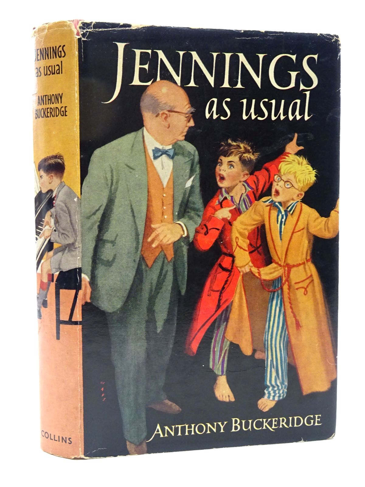 Photo of JENNINGS AS USUAL written by Buckeridge, Anthony illustrated by Mays, published by Collins (STOCK CODE: 1815585)  for sale by Stella & Rose's Books