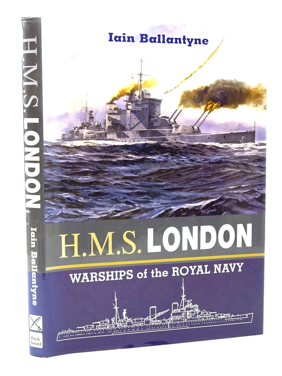 Photo of WARSHIPS OF THE ROYAL NAVY: H.M.S. LONDON written by Ballantyne, Iain published by Leo Cooper (STOCK CODE: 1815652)  for sale by Stella & Rose's Books