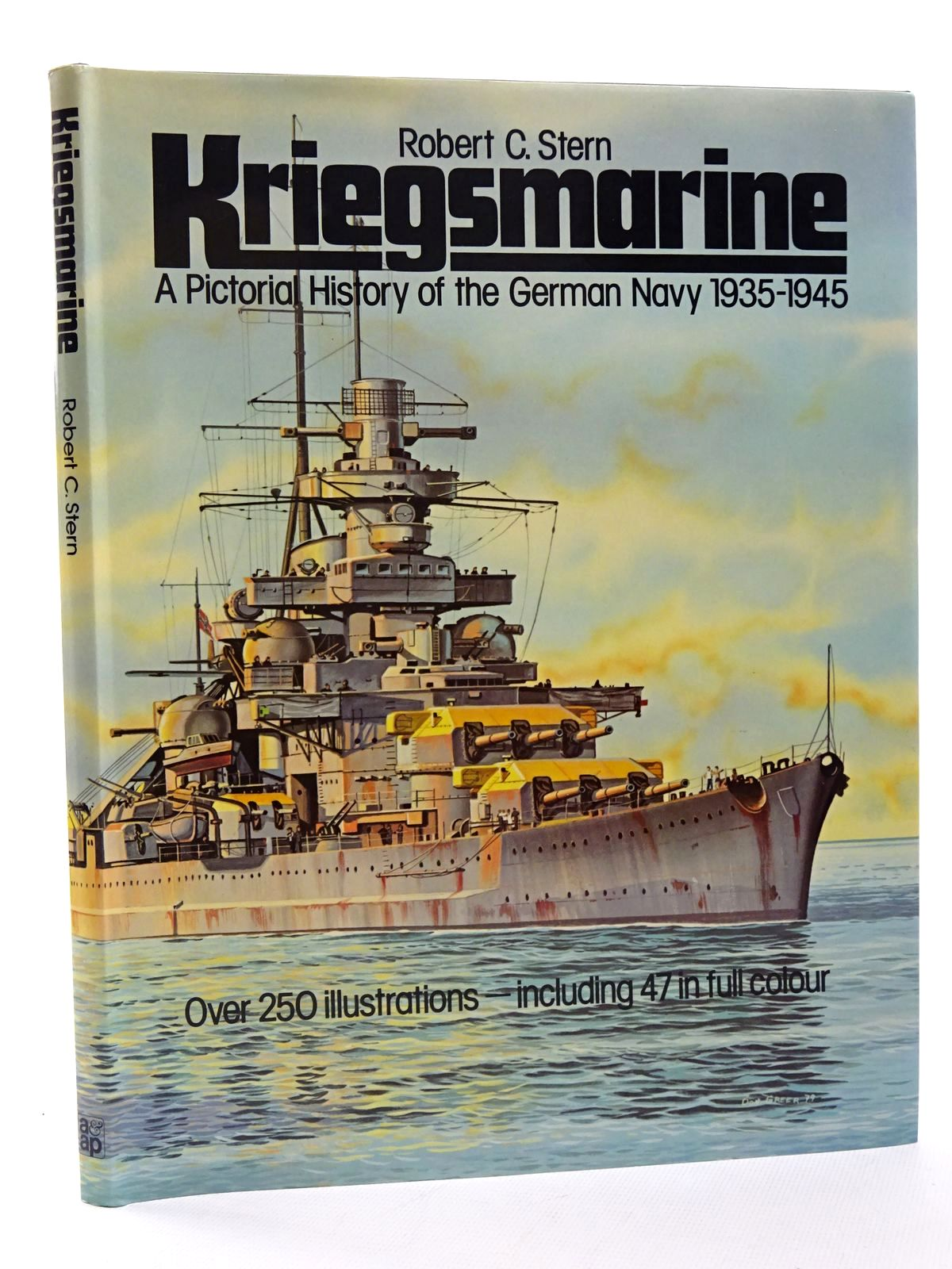 Photo of KRIEGSMARINE: A PICTORIAL HISTORY OF THE GERMAN NAVY 1935-1945 written by Stern, Robert C. illustrated by Greer, Don<br />Stern, Robert C. published by Arms & Armour Press (STOCK CODE: 1815663)  for sale by Stella & Rose's Books
