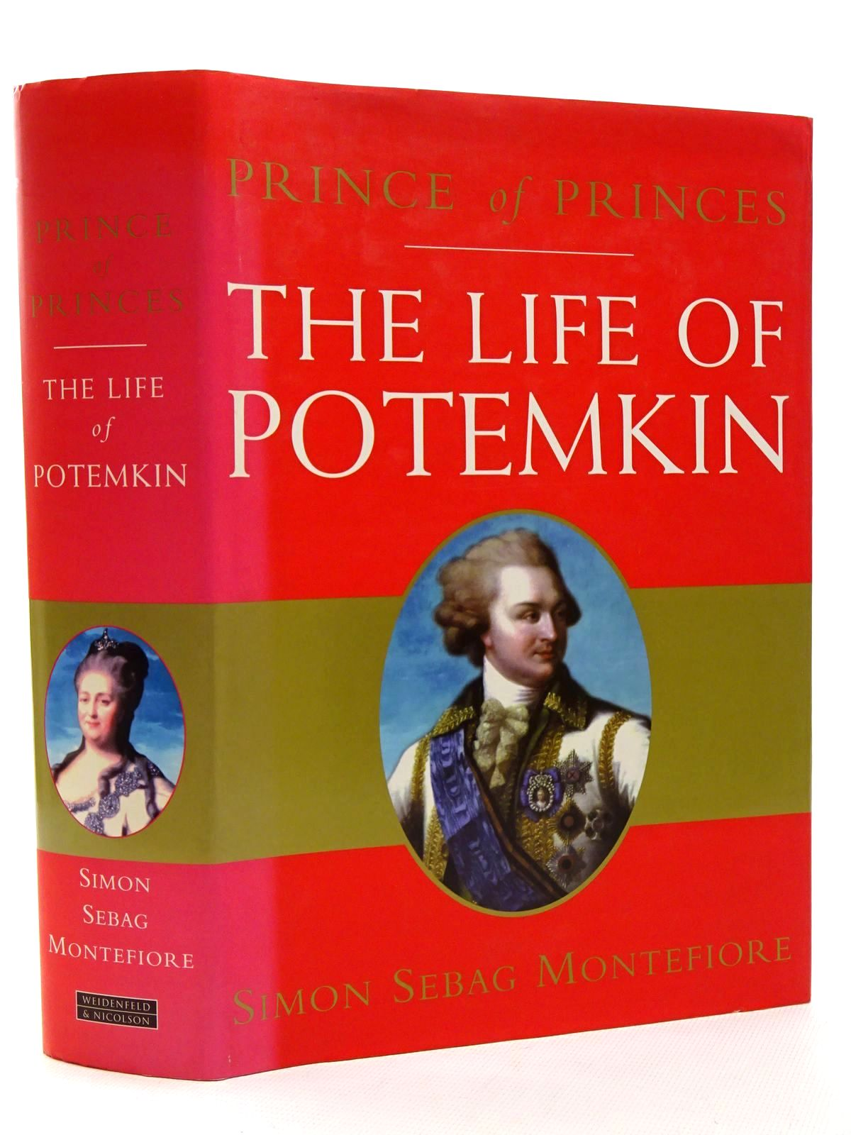 Photo of PRINCE OF PRINCES: THE LIFE OF POTEMKIN written by Montefiore, Simon Sebag published by Weidenfeld and Nicolson (STOCK CODE: 1815680)  for sale by Stella & Rose's Books