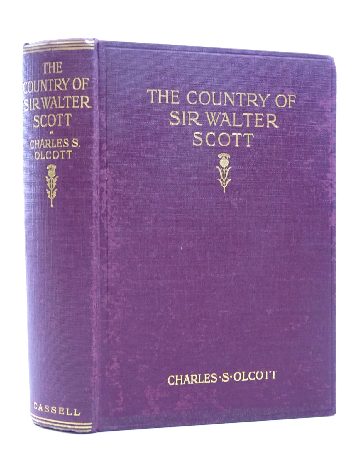 Photo of THE COUNTRY OF SIR WALTER SCOTT written by Olcott, Charles S. published by Cassell & Co. (STOCK CODE: 1815690)  for sale by Stella & Rose's Books