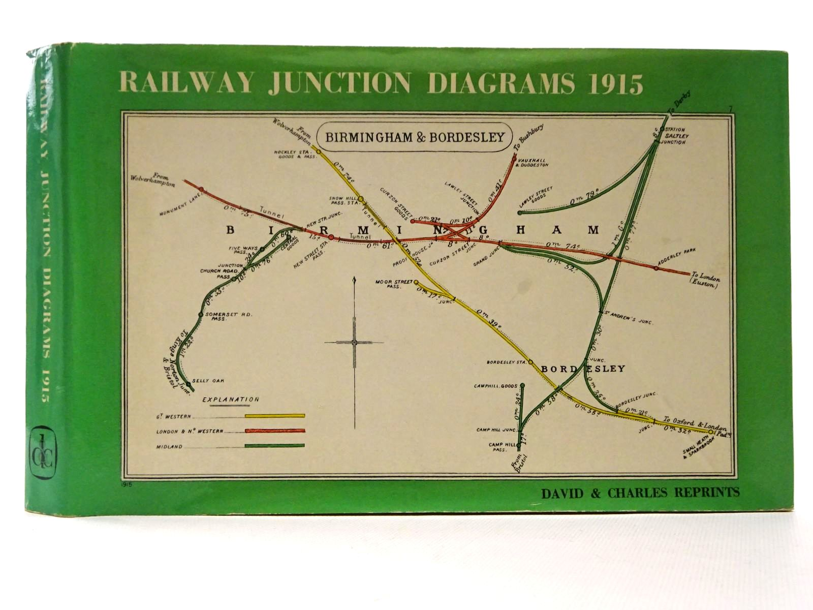 Photo of RAILWAY JUNCTION DIAGRAMS 1915 published by David & Charles (STOCK CODE: 1815691)  for sale by Stella & Rose's Books