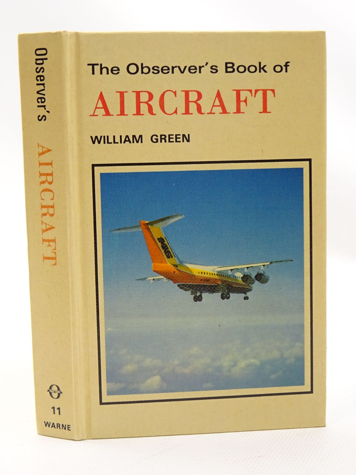 Photo of THE OBSERVER'S BOOK OF AIRCRAFT written by Green, William illustrated by Punnett, Dennis published by Frederick Warne (STOCK CODE: 1815741)  for sale by Stella & Rose's Books