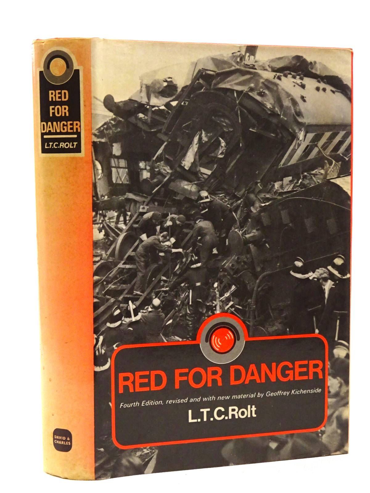 Photo of RED FOR DANGER written by Rolt, L.T.C. published by David & Charles (STOCK CODE: 1815743)  for sale by Stella & Rose's Books