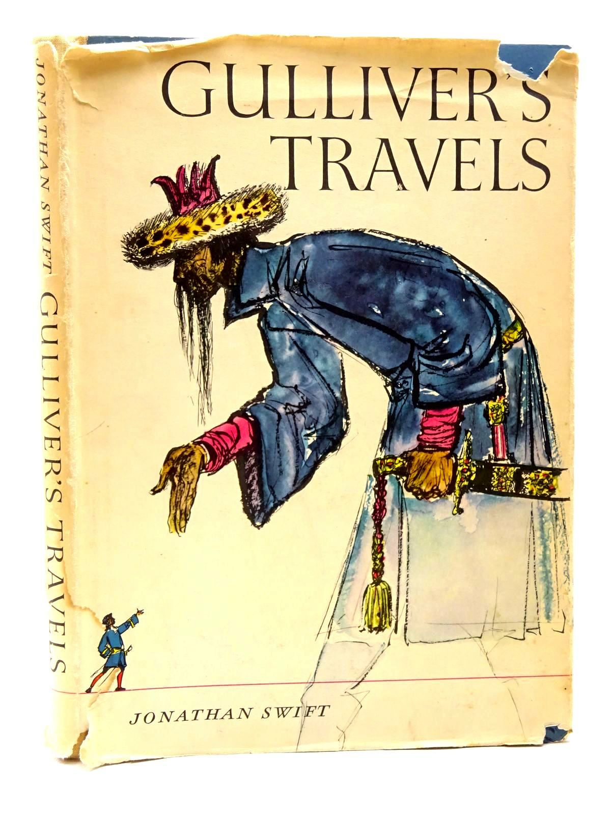 Photo of GULLIVER'S TRAVELS written by Swift, Jonathan<br />Moss, Elaine illustrated by Baltzer, Hans published by Constable & Co. Ltd. (STOCK CODE: 1815757)  for sale by Stella & Rose's Books