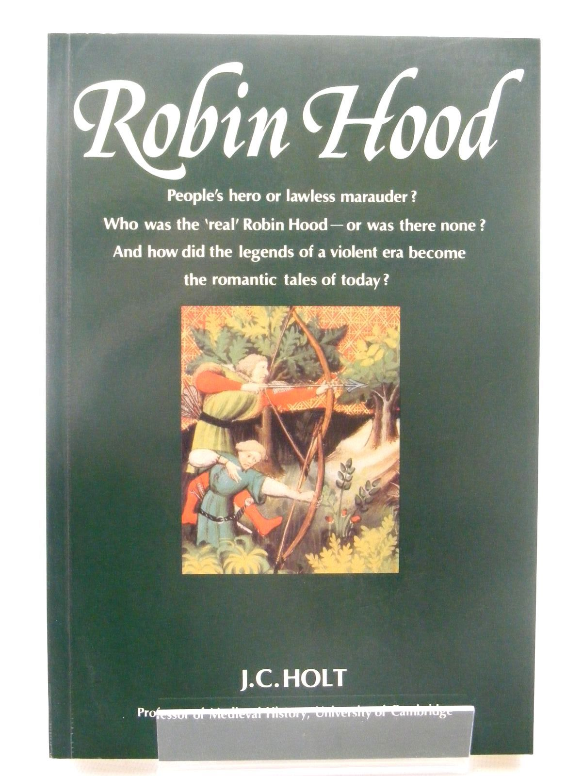 Photo of ROBIN HOOD written by Holt, J.C. published by Thames and Hudson (STOCK CODE: 1815959)  for sale by Stella & Rose's Books
