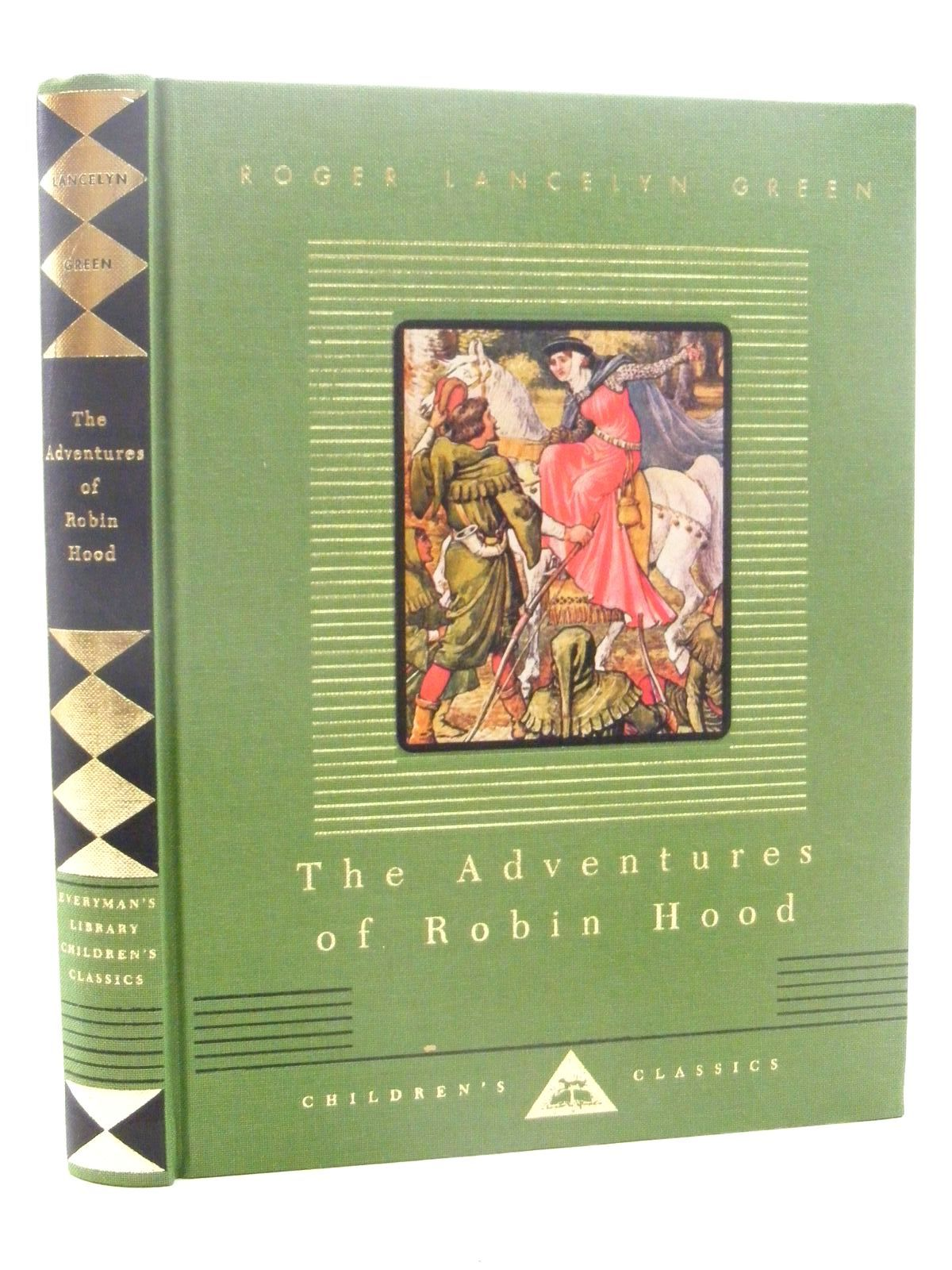 Photo of THE ADVENTURES OF ROBIN HOOD written by Green, Roger Lancelyn illustrated by Crane, Walter published by Everymans Library (STOCK CODE: 1815960)  for sale by Stella & Rose's Books