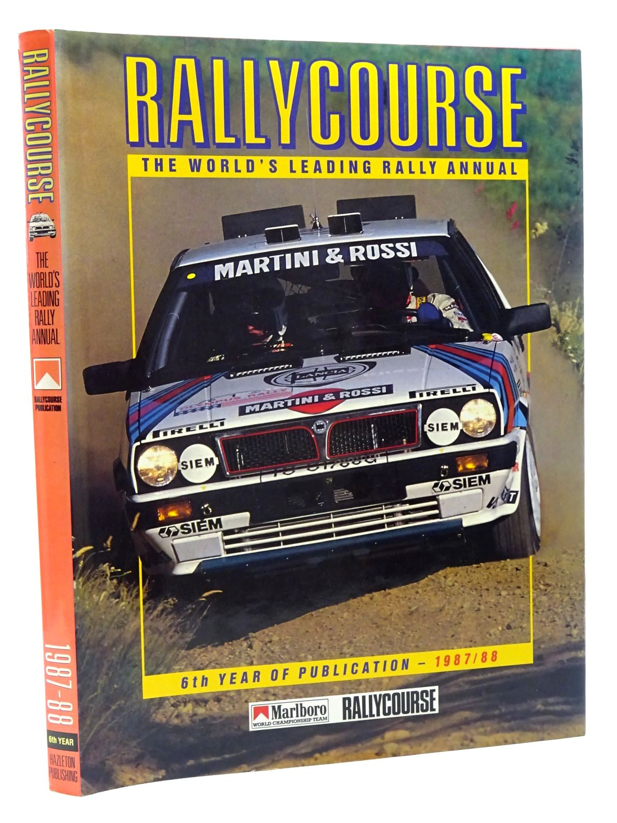 Photo of RALLYCOURSE 1987-88 written by Greasley, Mike published by Hazleton Publishing (STOCK CODE: 1815970)  for sale by Stella & Rose's Books