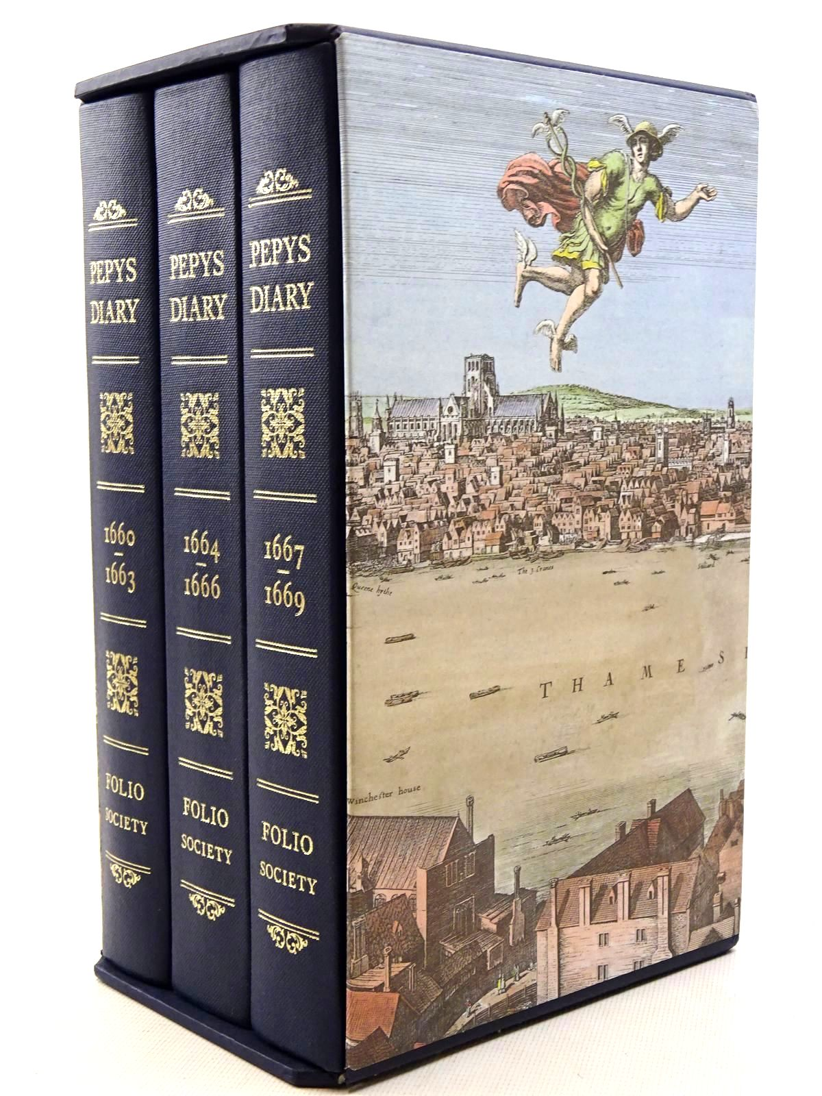 Photo of PEPYS'S DIARY (3 VOLUMES) written by Pepys, Samuel<br />Latham, Robert published by Folio Society (STOCK CODE: 1816036)  for sale by Stella & Rose's Books