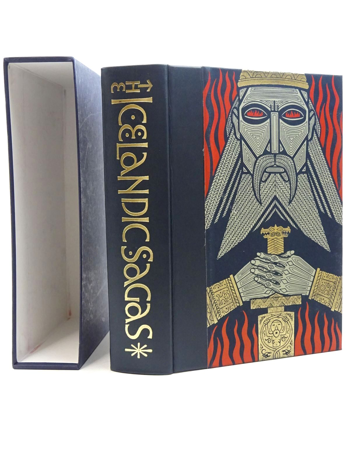 Photo of THE ICELANDIC SAGAS written by Magnusson, Magnus illustrated by Noyes, Simon published by Folio Society (STOCK CODE: 1816038)  for sale by Stella & Rose's Books