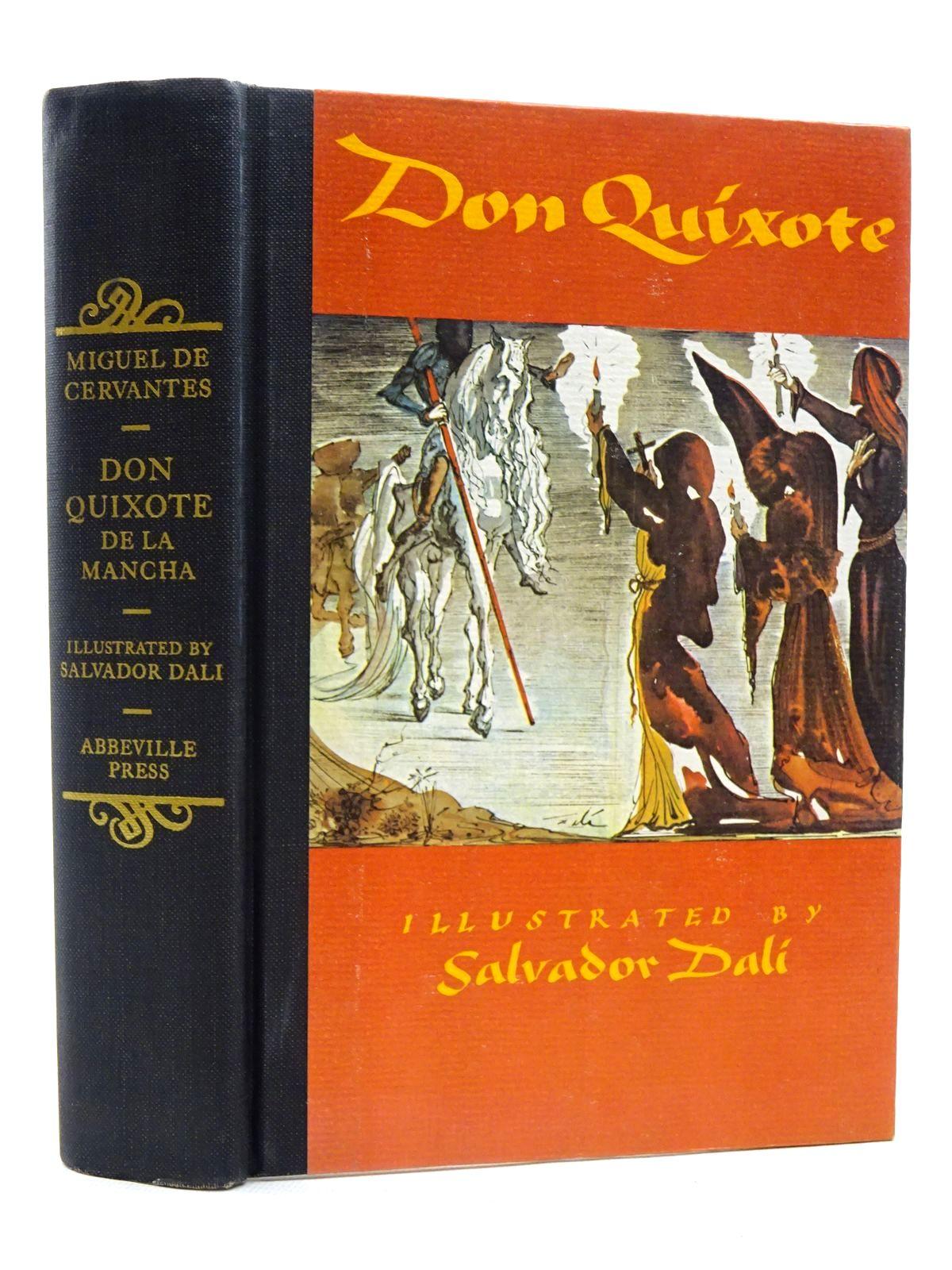 Photo of DON QUIXOTE DE LA MANCHA written by De Cervantes, Miguel illustrated by Dali, Salvador published by Abbeville Press (STOCK CODE: 1816047)  for sale by Stella & Rose's Books