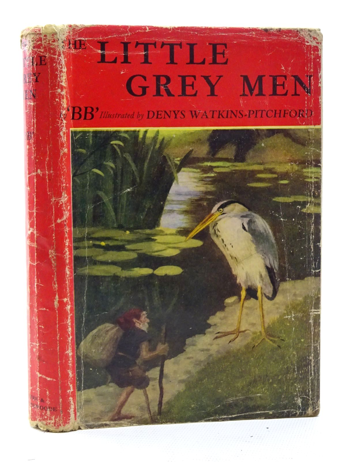 Photo of THE LITTLE GREY MEN written by BB,  illustrated by BB,  published by Eyre & Spottiswoode (STOCK CODE: 1816117)  for sale by Stella & Rose's Books