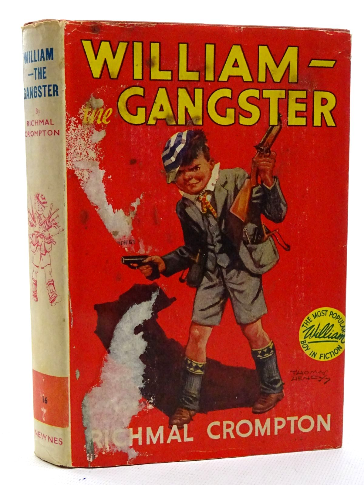 Photo of WILLIAM THE GANGSTER written by Crompton, Richmal illustrated by Henry, Thomas published by George Newnes Limited (STOCK CODE: 1816130)  for sale by Stella & Rose's Books
