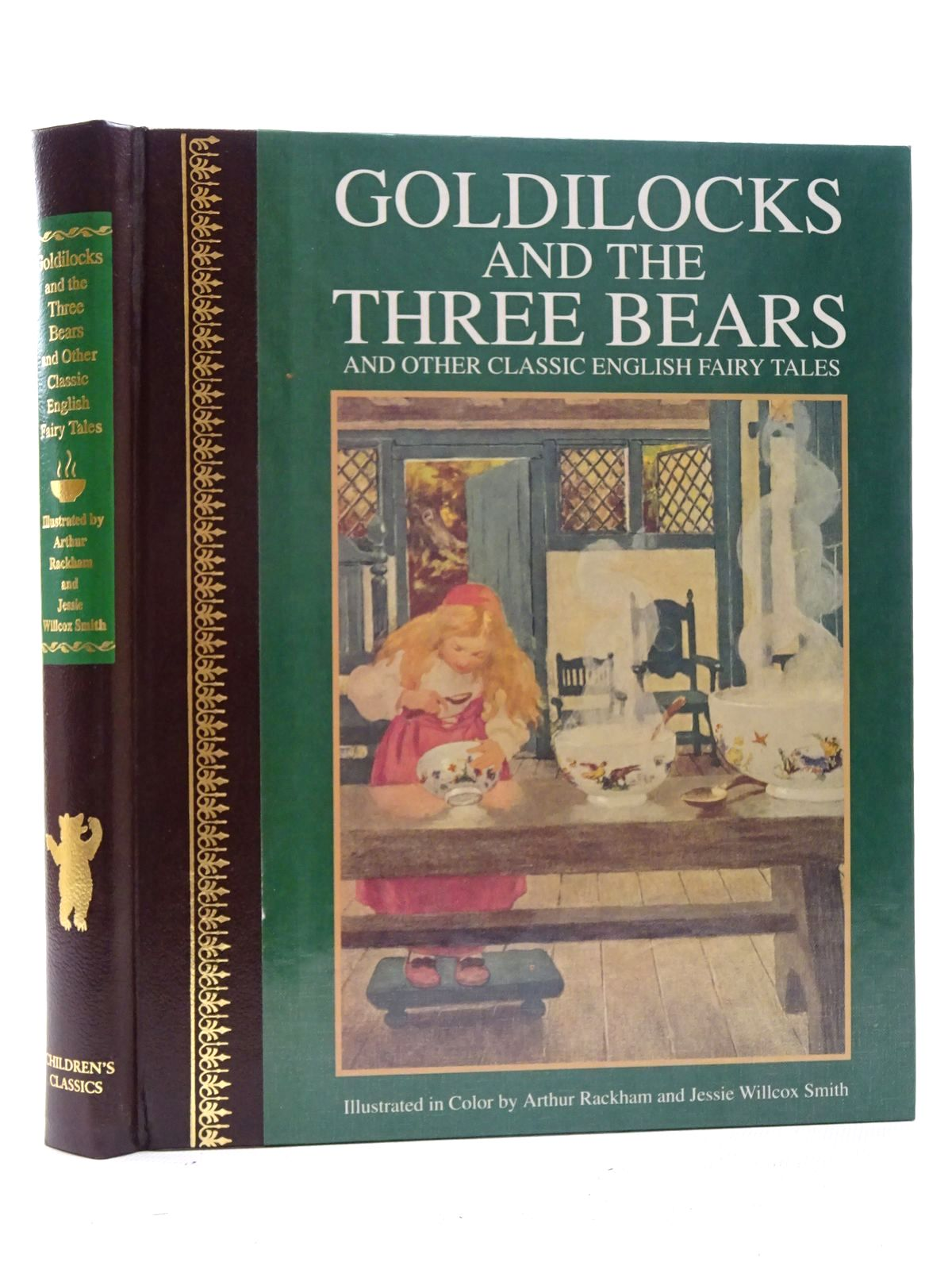 Photo of GOLDILOCKS AND THE THREE BEARS AND OTHER CLASSIC ENGLISH FAIRY TALES written by Steel, Flora Annie illustrated by Rackham, Arthur<br />Smith, Jessie Willcox published by Children's Classics (STOCK CODE: 1816150)  for sale by Stella & Rose's Books