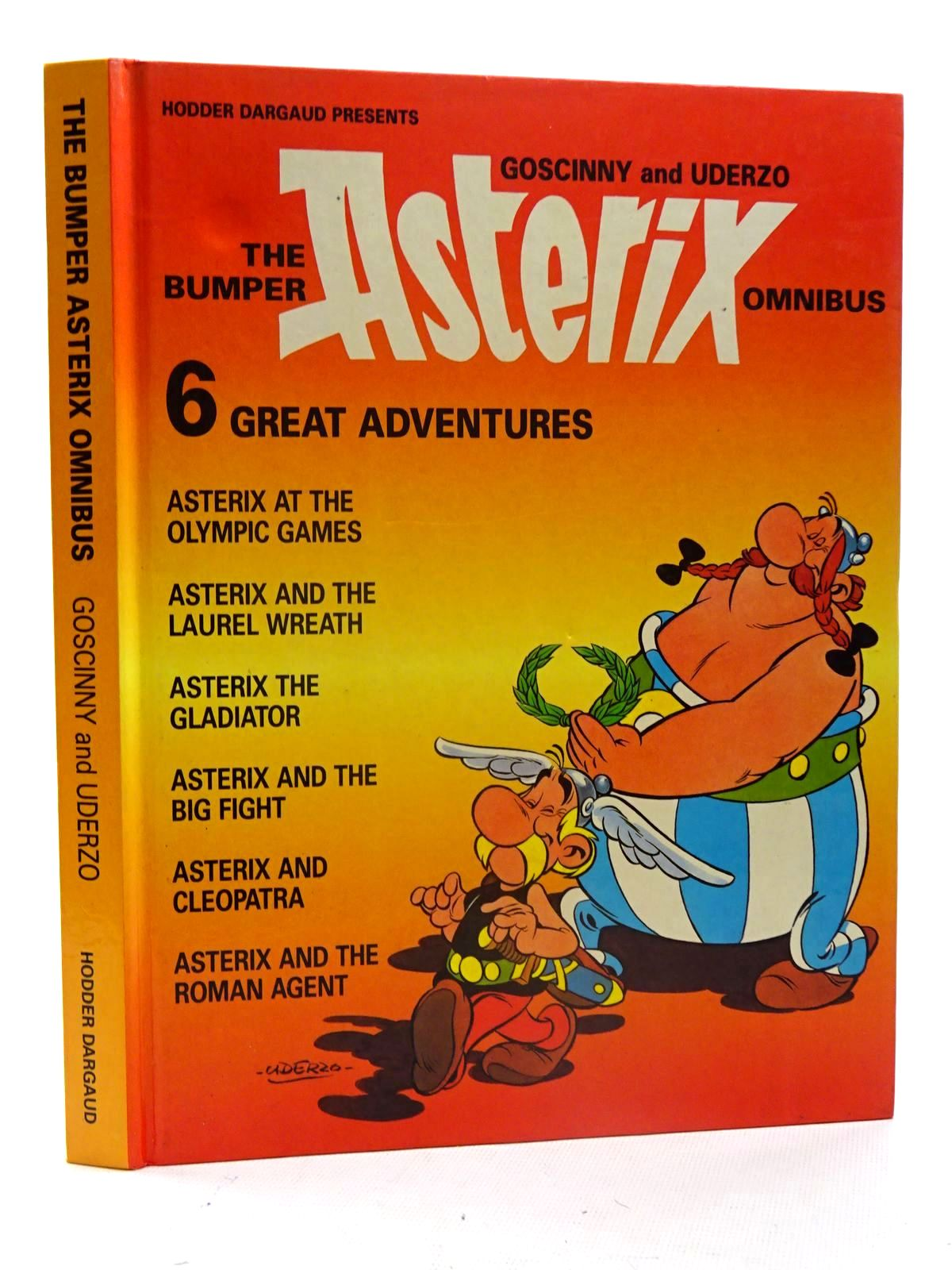 Photo of THE BUMPER ASTERIX OMNIBUS written by Goscinny, Rene illustrated by Uderzo, Albert published by Hodder Dargaud (STOCK CODE: 1816217)  for sale by Stella & Rose's Books