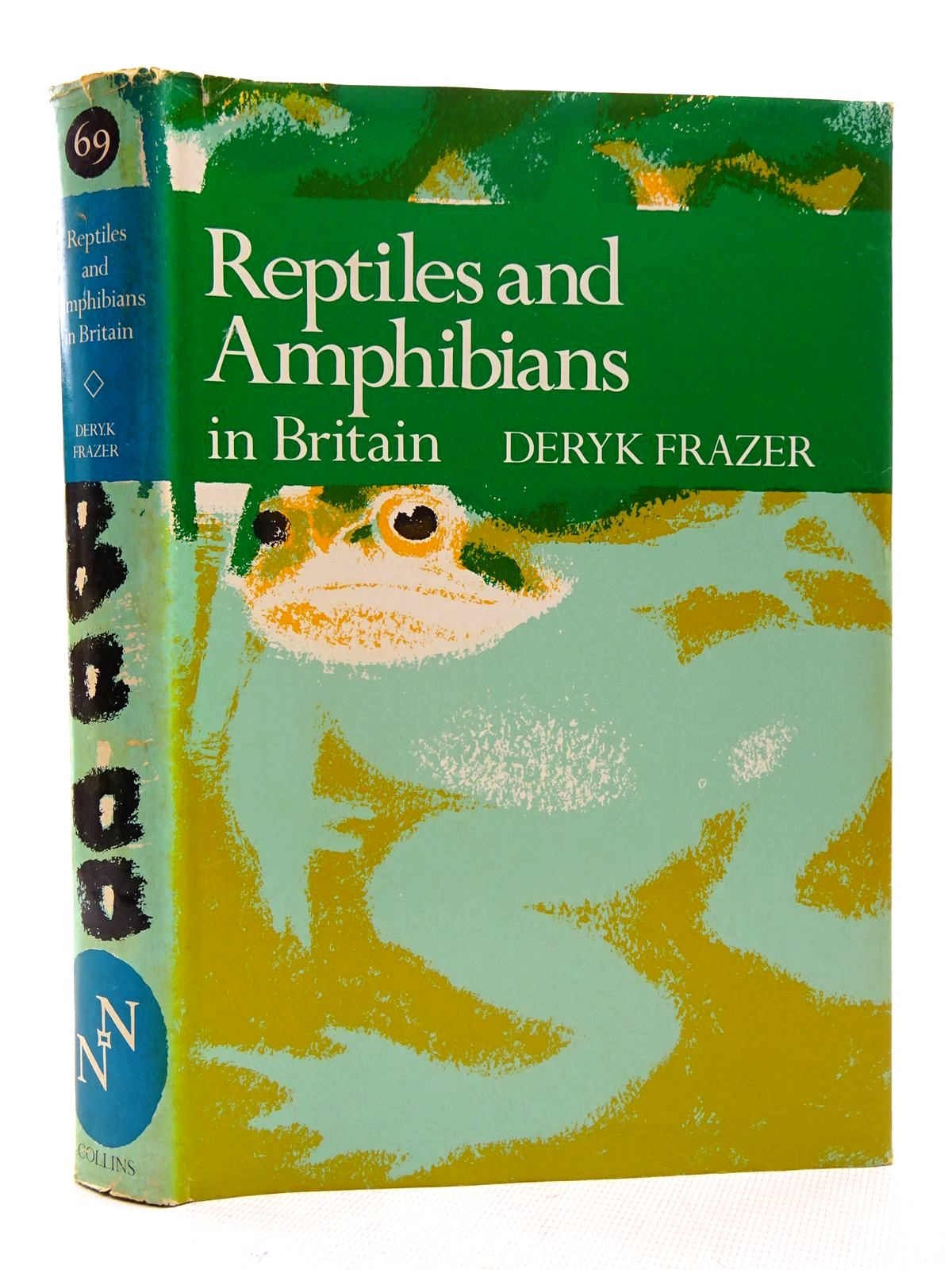 Photo of REPTILES AND AMPHIBIANS IN BRITAIN (NN 69) written by Frazer, Deryk published by Collins (STOCK CODE: 1816245)  for sale by Stella & Rose's Books