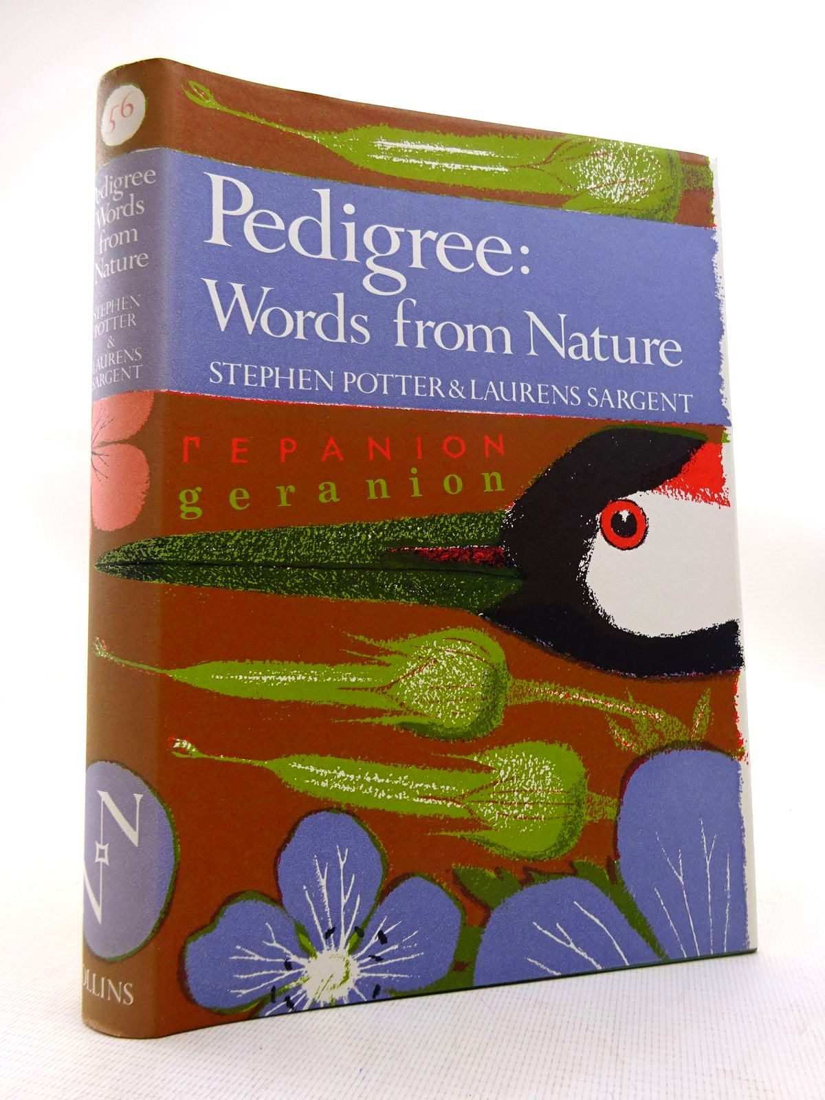 Photo of PEDIGREE: WORDS FROM NATURE (NN 56) written by Potter, Stephen<br />Sargent, Laurens published by Collins (STOCK CODE: 1816296)  for sale by Stella & Rose's Books