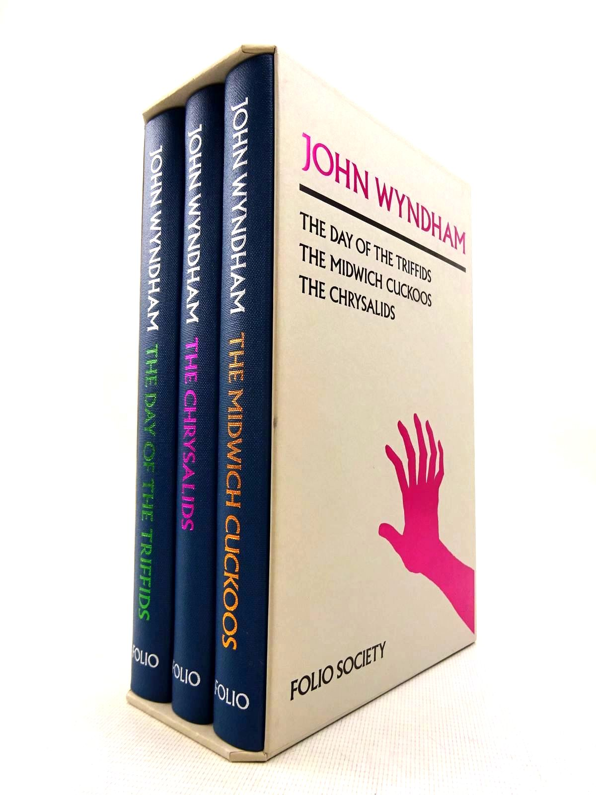 Photo of JOHN WYNDHAM: THREE NOVELS written by Wyndham, John illustrated by Leger, Patrick published by Folio Society (STOCK CODE: 1816327)  for sale by Stella & Rose's Books