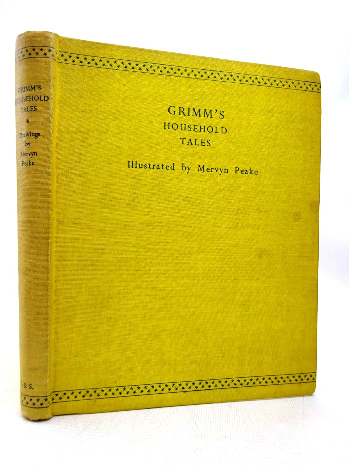 Photo of HOUSEHOLD TALES written by Grimm, Brothers illustrated by Peake, Mervyn published by Eyre & Spottiswoode (STOCK CODE: 1816360)  for sale by Stella & Rose's Books