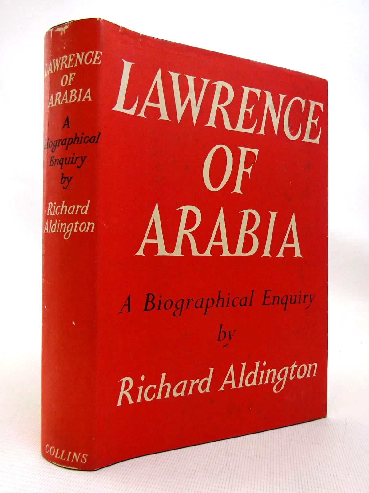 Photo of LAWRENCE OF ARABIA - A BIOGRAPHICAL ENQUIRY written by Aldington, Richard published by Collins (STOCK CODE: 1816388)  for sale by Stella & Rose's Books