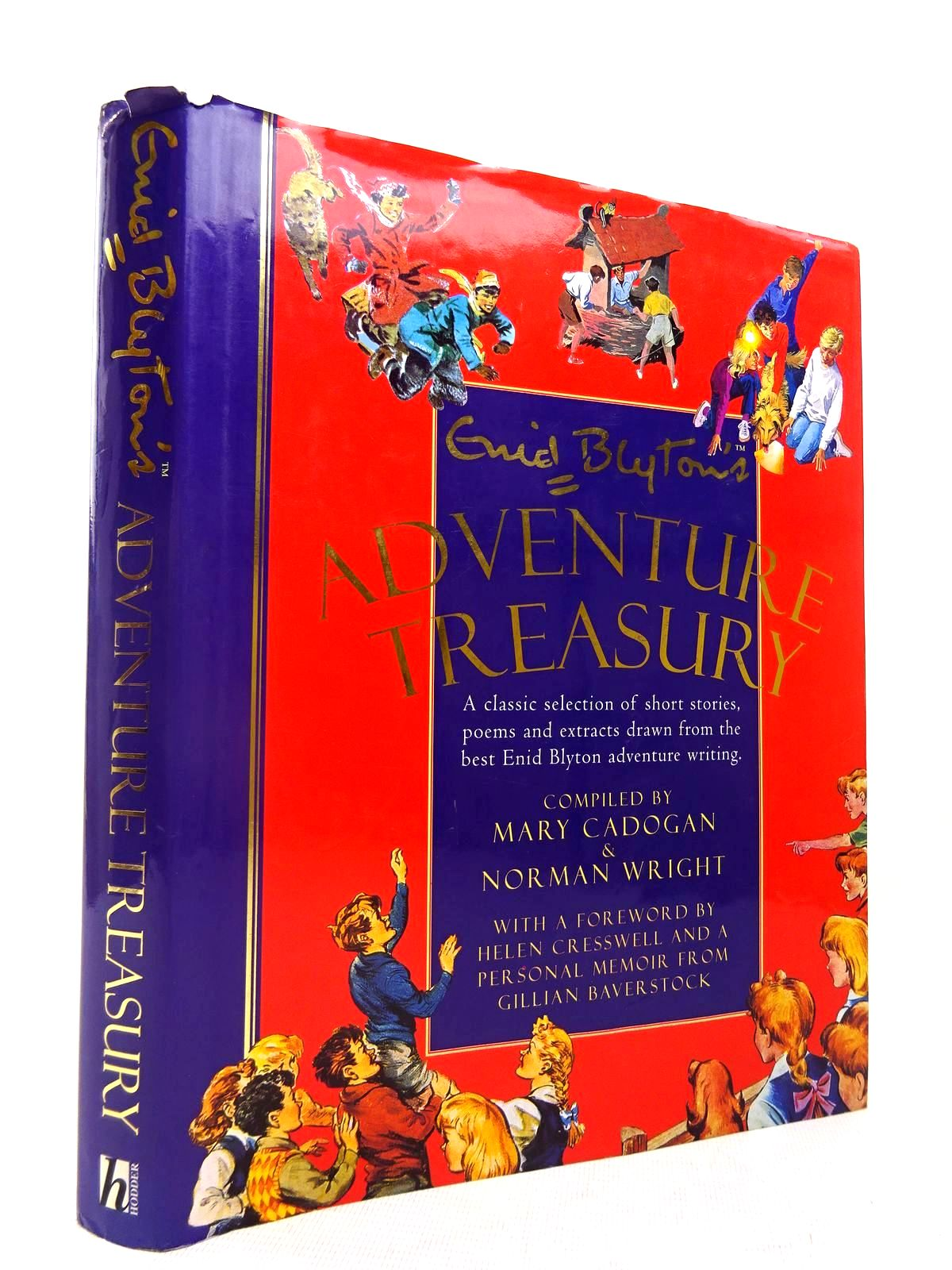 Photo of ENID BLYTON'S ADVENTURE TREASURY written by Blyton, Enid<br />Cadogan, Mary<br />Wright, Norman published by Hodder Children's Books (STOCK CODE: 1816398)  for sale by Stella & Rose's Books