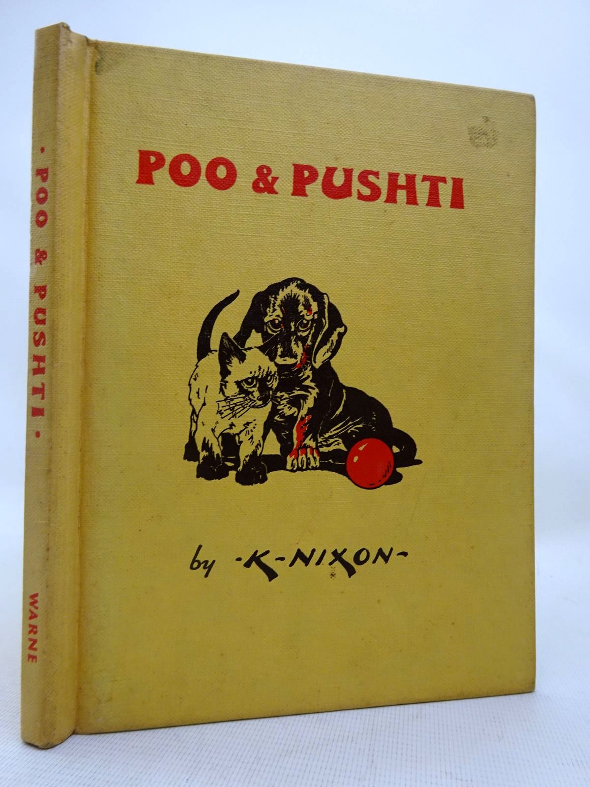 Photo of POO & PUSHTI written by Nixon, Kathleen illustrated by Nixon, Kathleen published by Frederick Warne & Co Ltd. (STOCK CODE: 1816410)  for sale by Stella & Rose's Books