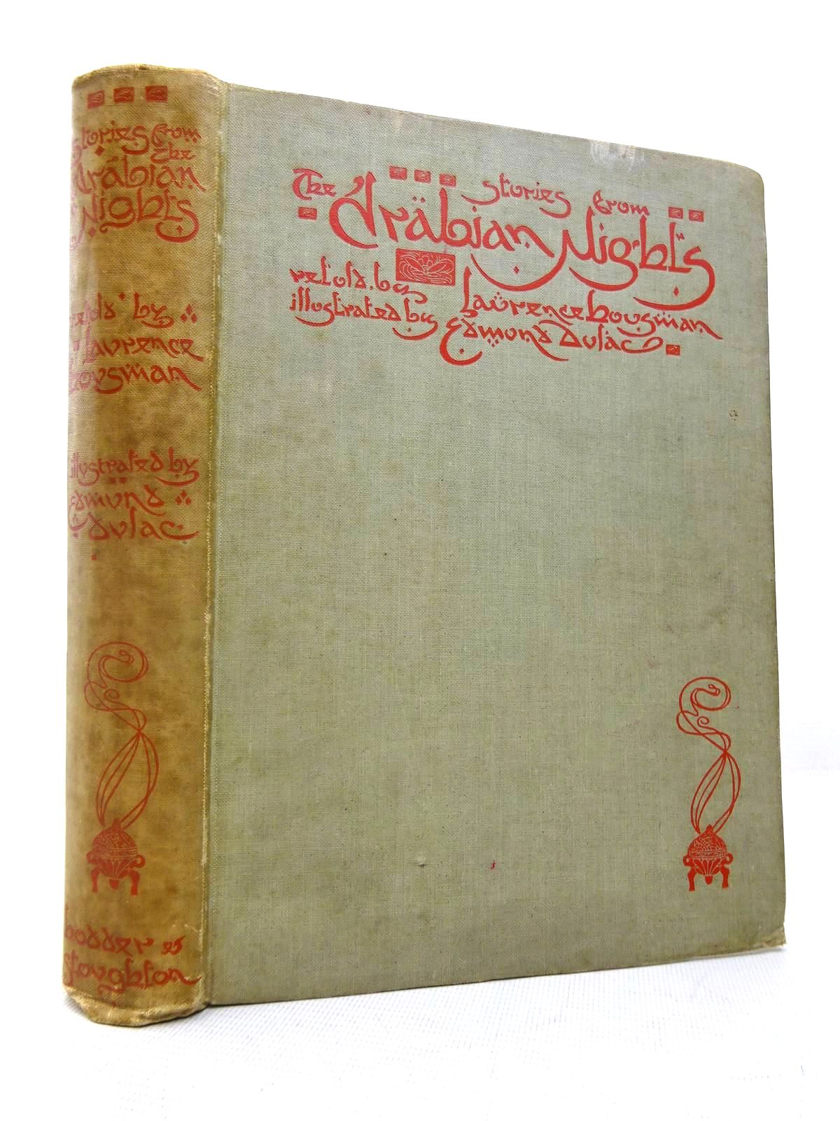 Photo of STORIES FROM THE ARABIAN NIGHTS written by Housman, Laurence illustrated by Dulac, Edmund published by Hodder & Stoughton (STOCK CODE: 1816497)  for sale by Stella & Rose's Books