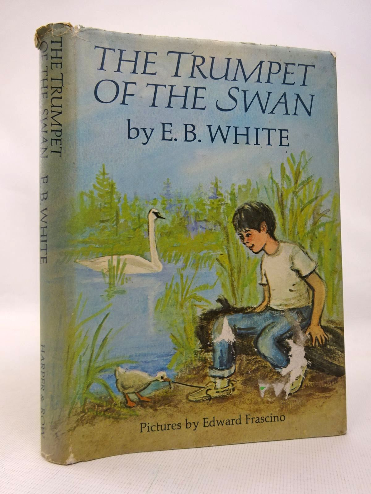 Photo of THE TRUMPET OF THE SWAN written by White, E.B. illustrated by Frascino, Edward published by Harper & Row (STOCK CODE: 1816548)  for sale by Stella & Rose's Books