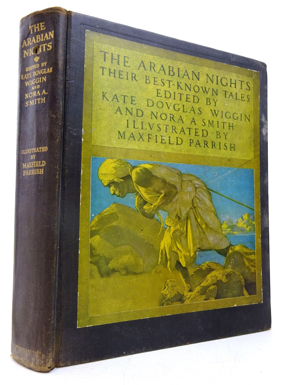 Photo of THE ARABIAN NIGHTS: THEIR BEST-KNOWN TALES written by Wiggin, Kate Douglas<br />Smith, Nora A. illustrated by Parrish, Maxfield published by Charles Scribner's Sons (STOCK CODE: 1816549)  for sale by Stella & Rose's Books