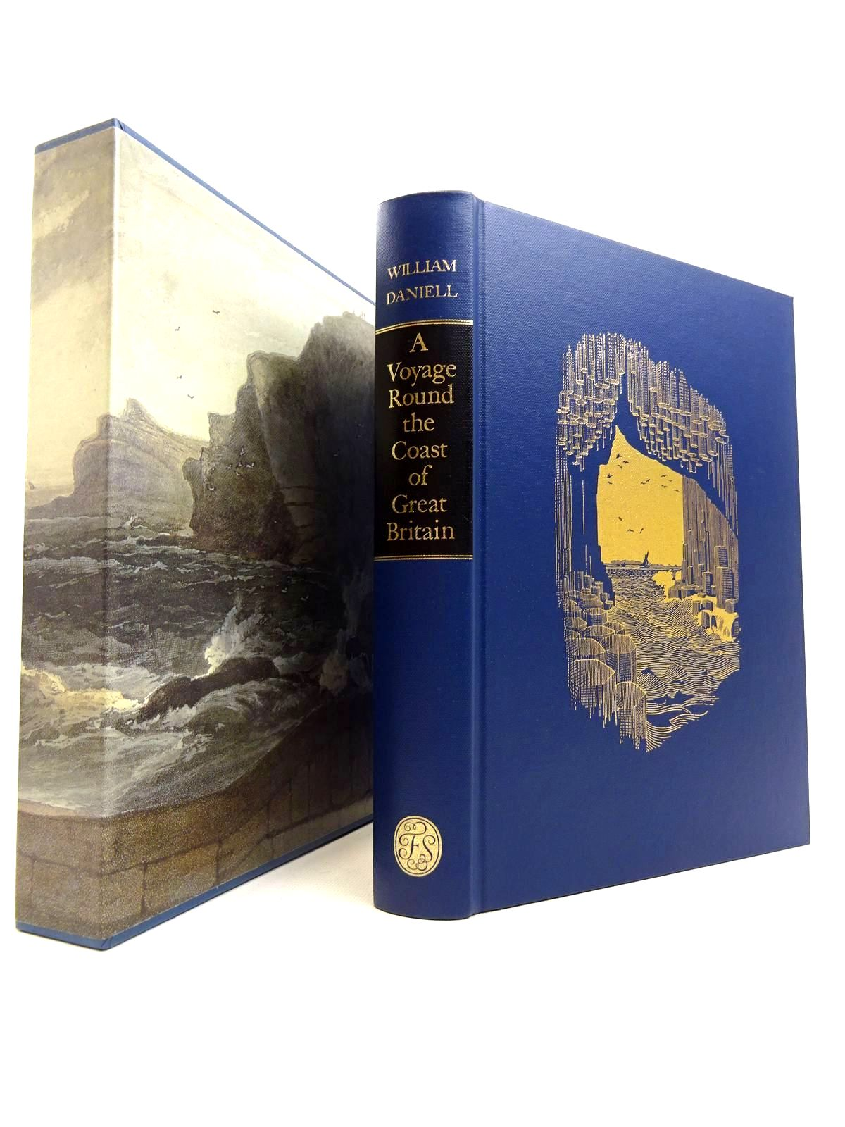 Photo of A VOYAGE ROUND THE COAST OF GREAT BRITAIN written by Daniell, William illustrated by Daniell, William published by Folio Society (STOCK CODE: 1816619)  for sale by Stella & Rose's Books