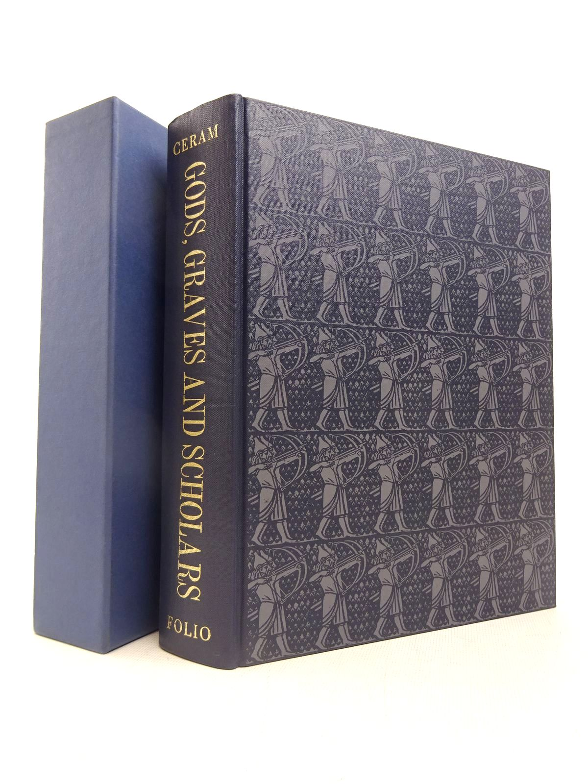 Photo of GODS, GRAVES AND SCHOLARS written by Ceram, C.W. illustrated by Piggott, Reginarld published by Folio Society (STOCK CODE: 1816732)  for sale by Stella & Rose's Books
