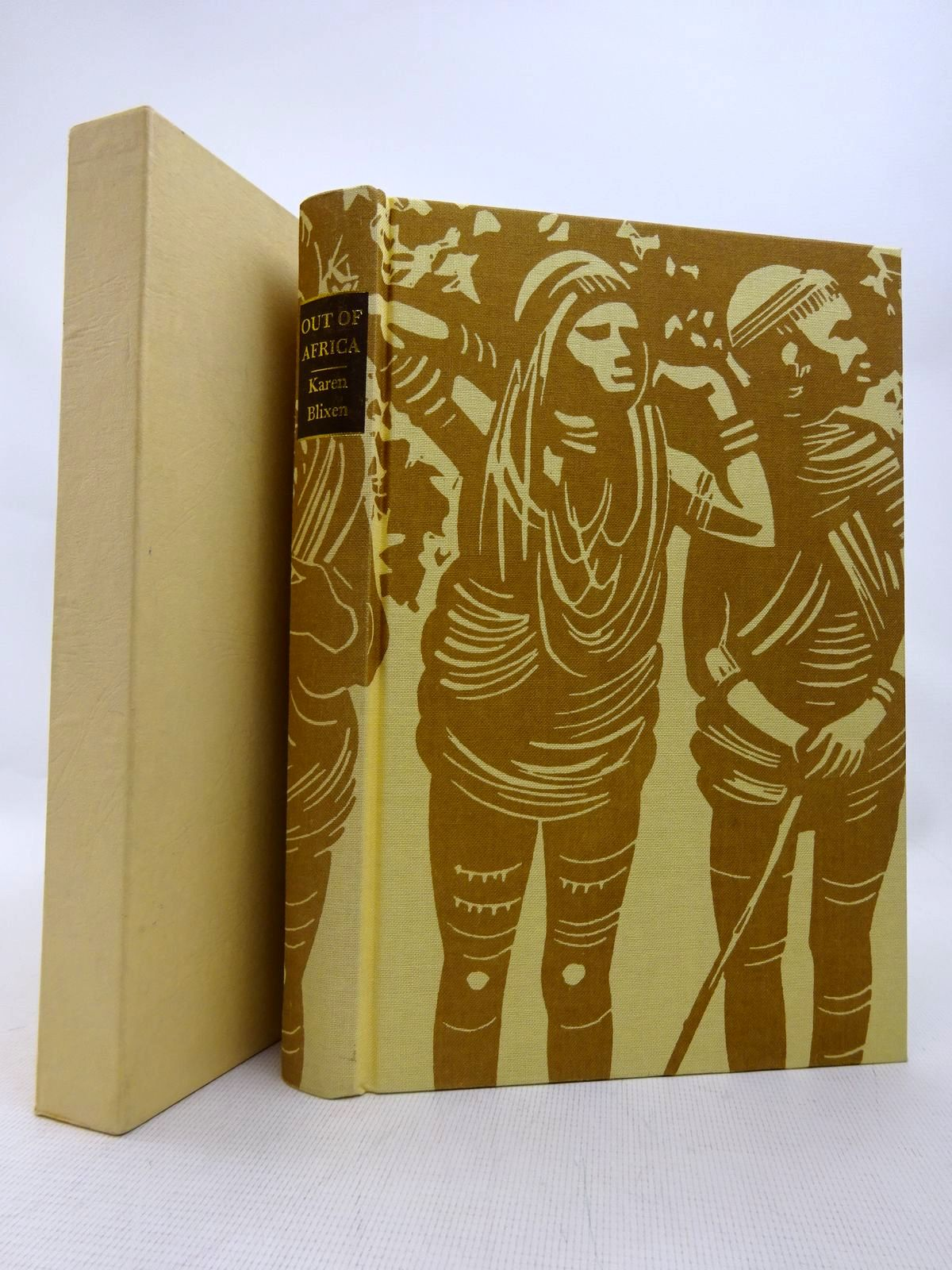 Photo of OUT OF AFRICA written by Blixen, Karen illustrated by Pendrey, Peter published by Folio Society (STOCK CODE: 1816747)  for sale by Stella & Rose's Books