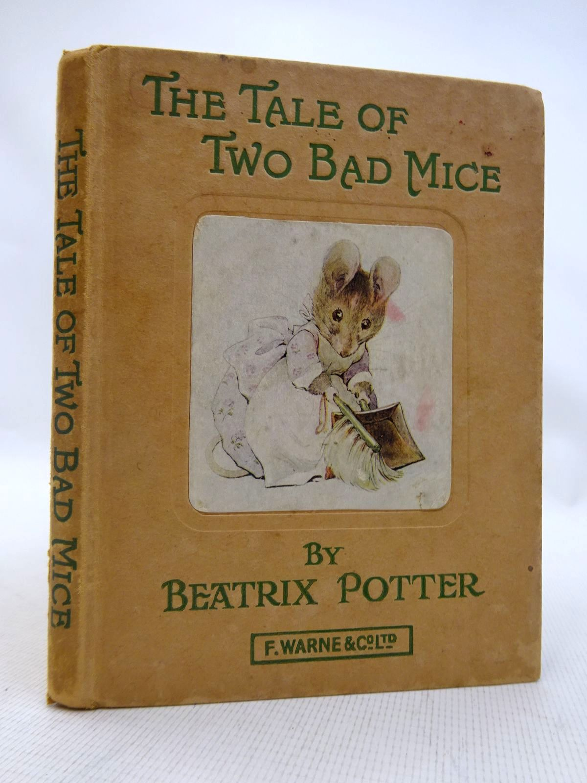 Photo of THE TALE OF TWO BAD MICE written by Potter, Beatrix illustrated by Potter, Beatrix published by Frederick Warne & Co Ltd. (STOCK CODE: 1816750)  for sale by Stella & Rose's Books