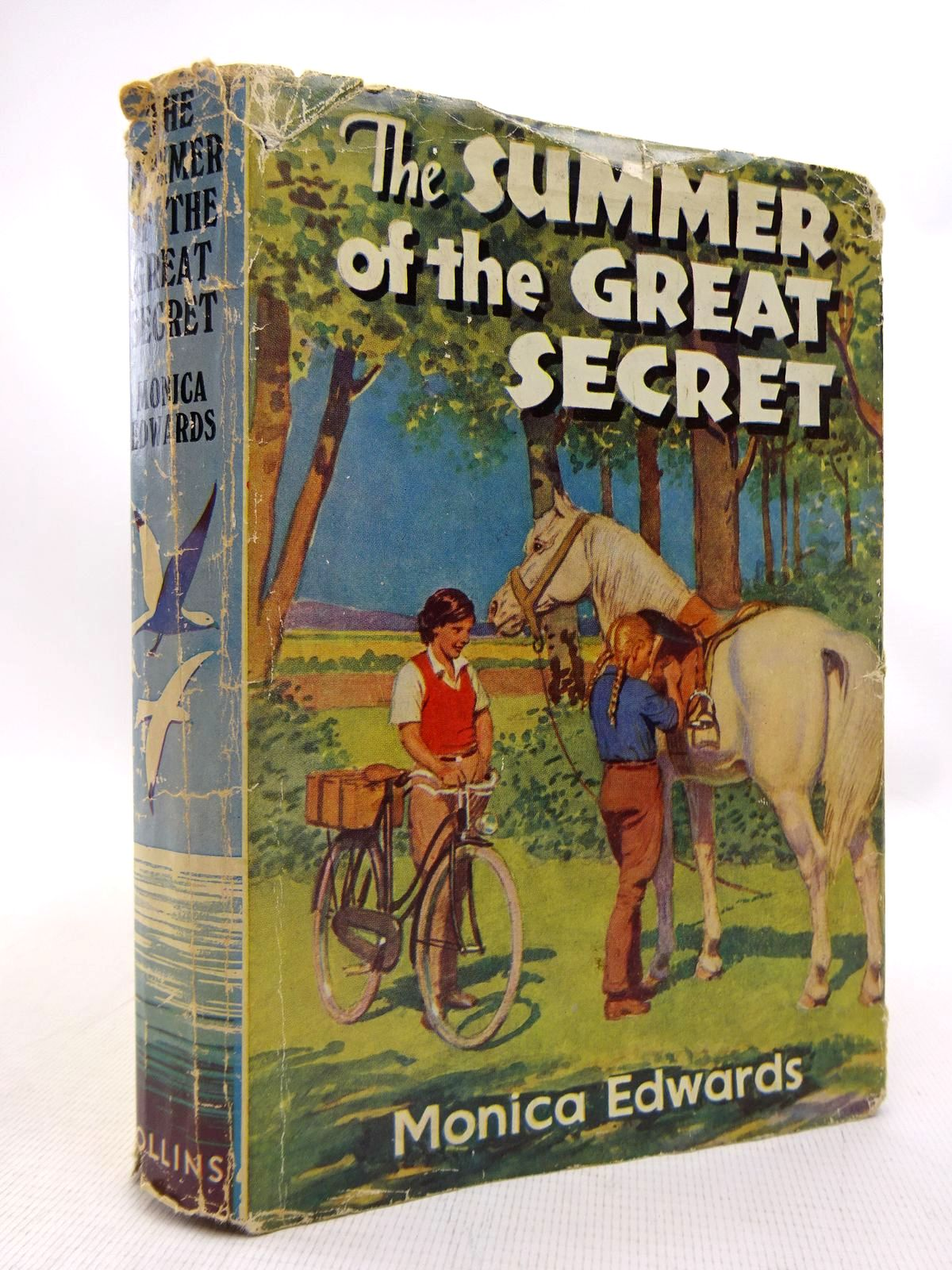 Photo of THE SUMMER OF THE GREAT SECRET written by Edwards, Monica illustrated by Bullen, Anne published by Collins (STOCK CODE: 1816760)  for sale by Stella & Rose's Books