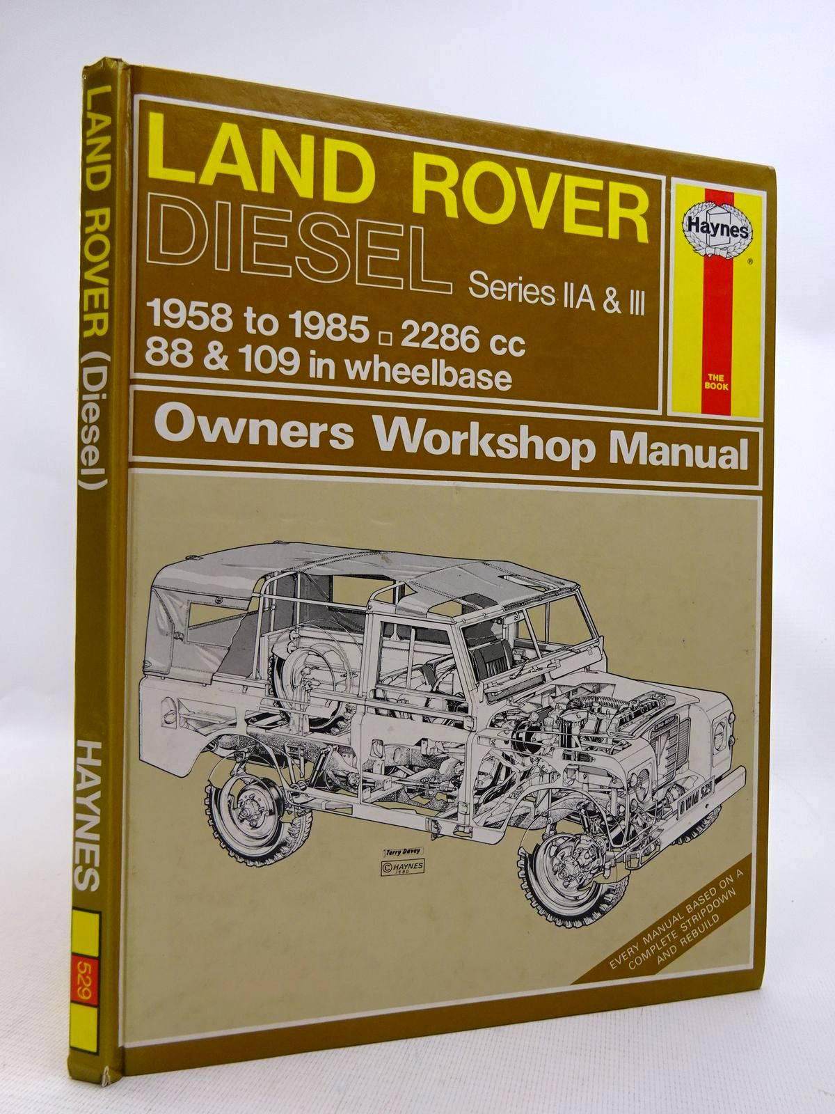 Photo of LAND ROVER OWNER'S WORKSHOP MANUAL written by Haynes, J.H.<br />Mead, John S. published by Haynes Publishing Group (STOCK CODE: 1816775)  for sale by Stella & Rose's Books
