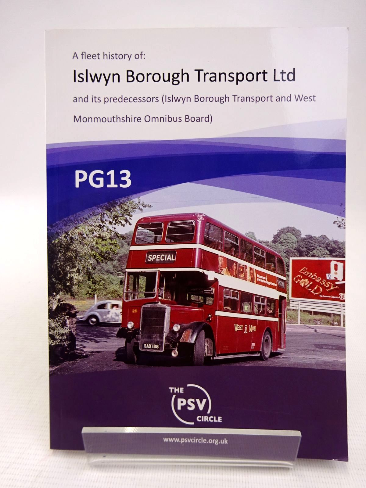 Photo of PG13: FLEET HISTORY OF ISLWYN BOROUGH TRANSPORT LTD AND ITS PREDECESSORS published by The PSV Circle (STOCK CODE: 1816797)  for sale by Stella & Rose's Books