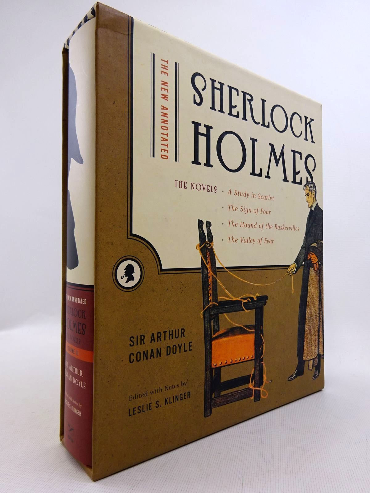 Photo of THE NEW ANNOTATED SHERLOCK HOLMES VOLUME III written by Doyle, Arthur Conan<br />Klinger, Leslie S. published by W.W. Norton & Company Inc. (STOCK CODE: 1816827)  for sale by Stella & Rose's Books