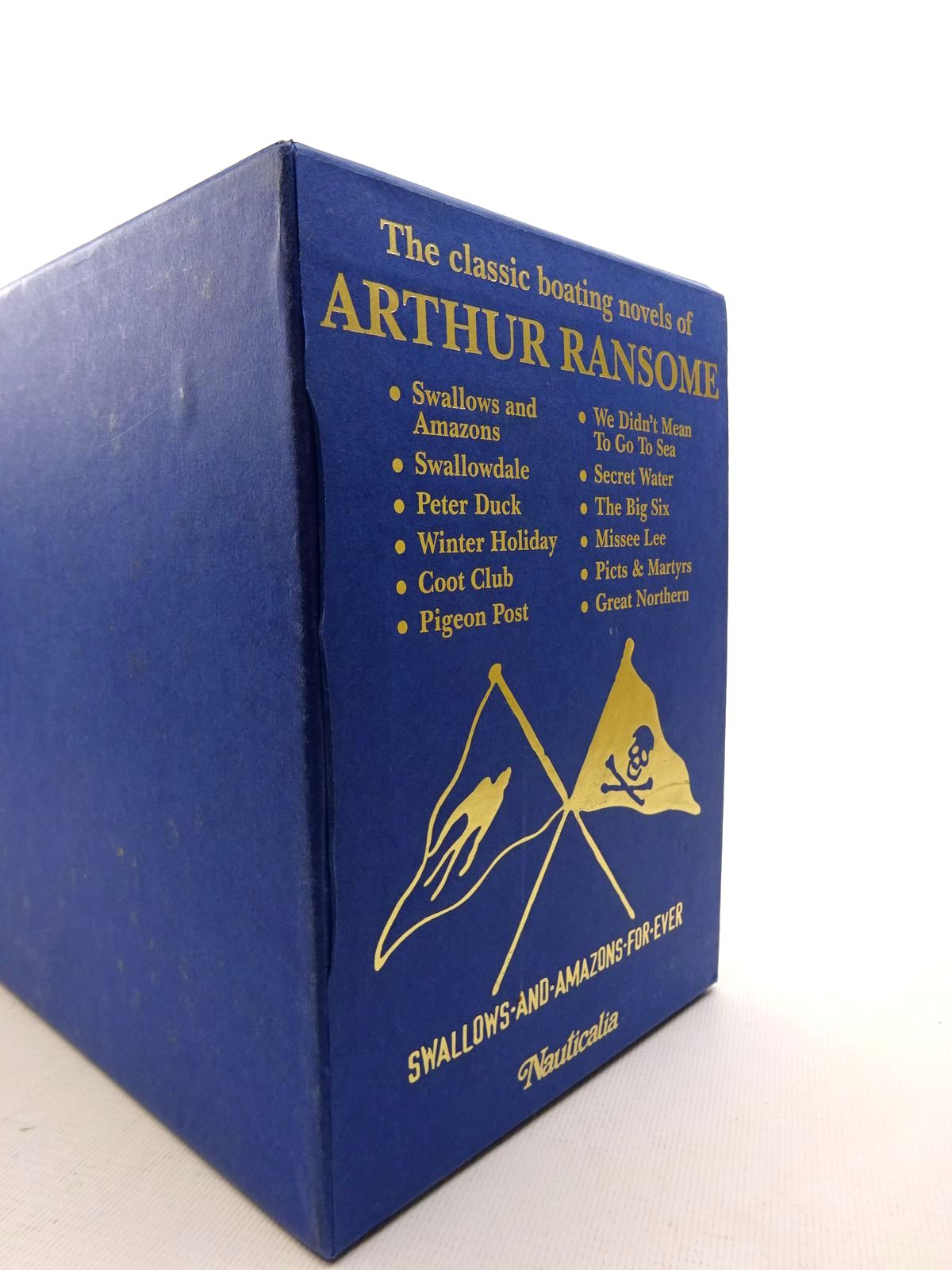 Photo of THE CLASSIC BOATING NOVELS OF ARTHUR RANSOME (12 VOLUMES) written by Ransome, Arthur illustrated by Ransome, Arthur<br />Blackett, Nancy published by Jonathan Cape (STOCK CODE: 1816828)  for sale by Stella & Rose's Books
